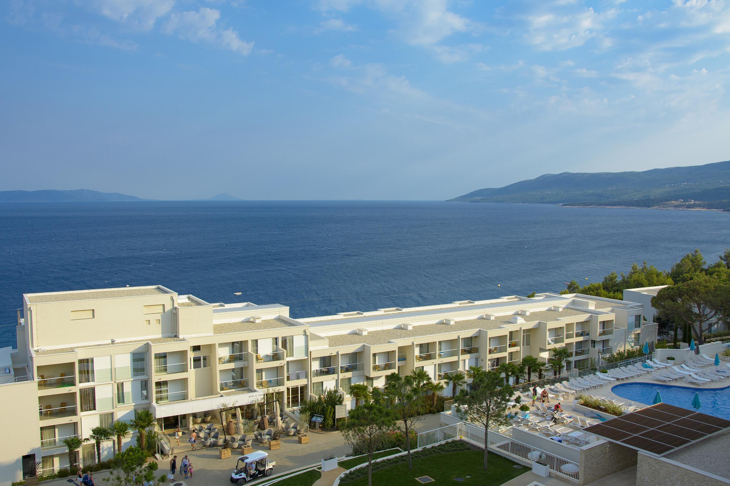 Utsikt Tui Family Life Bellevue Resort Rabac Kroatien