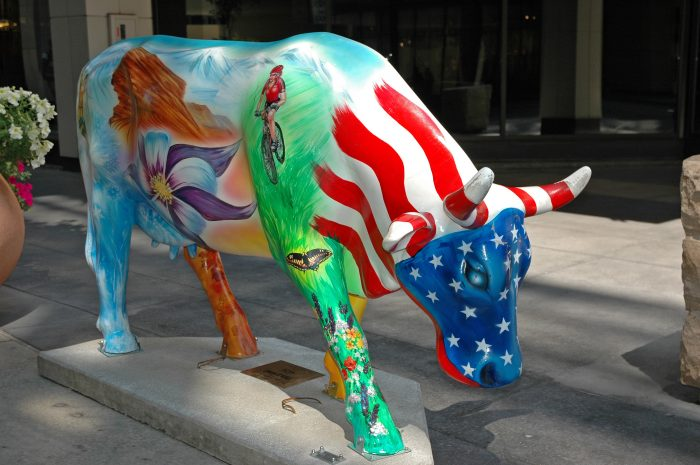 CowParade Denver Cow Town USA