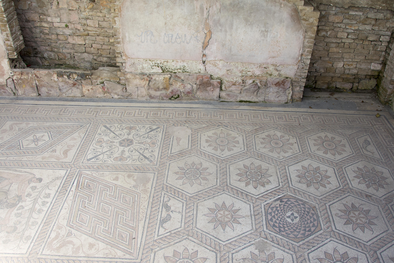 Roman Floor Mosaic pula kroatien