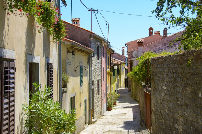gata i labin kroatien