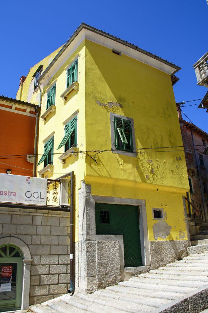 hus i labin kroatien
