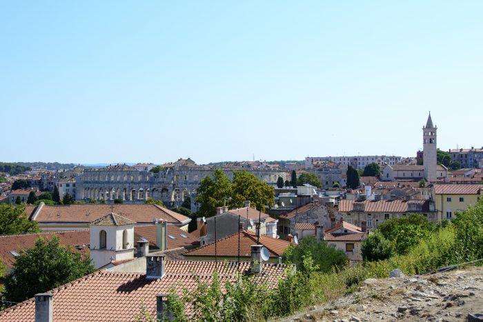 pula amfiteater kroatien