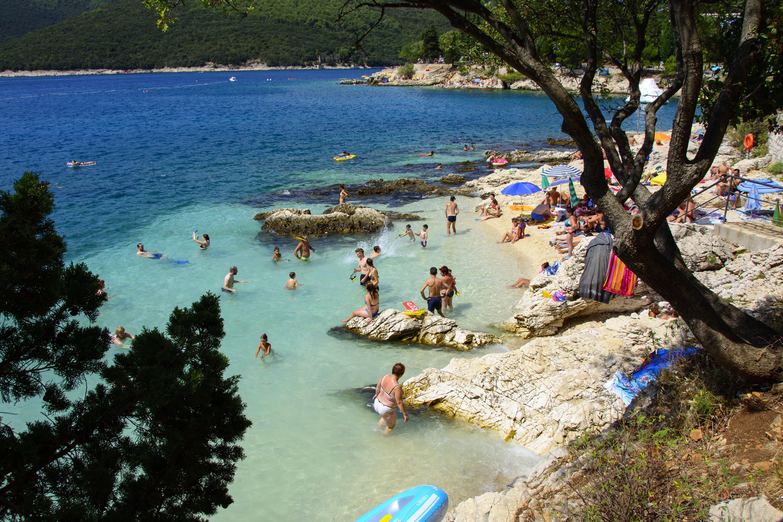 rabac strand kroatien