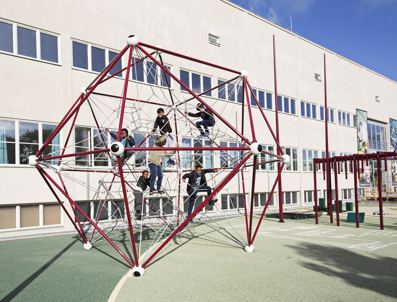 pressbild tekniska matematikträdgård