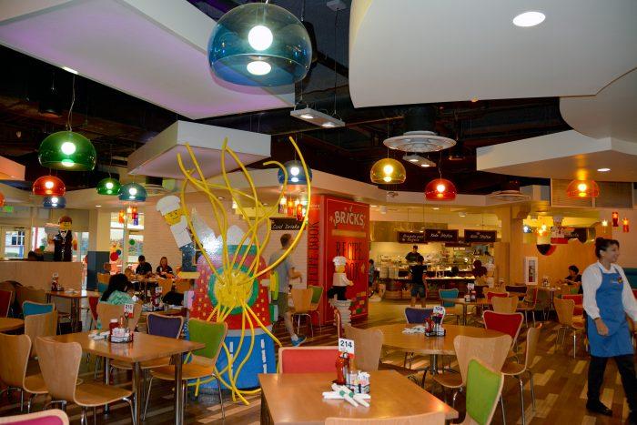 legoland hotel carlsbad bricks restaurant 2