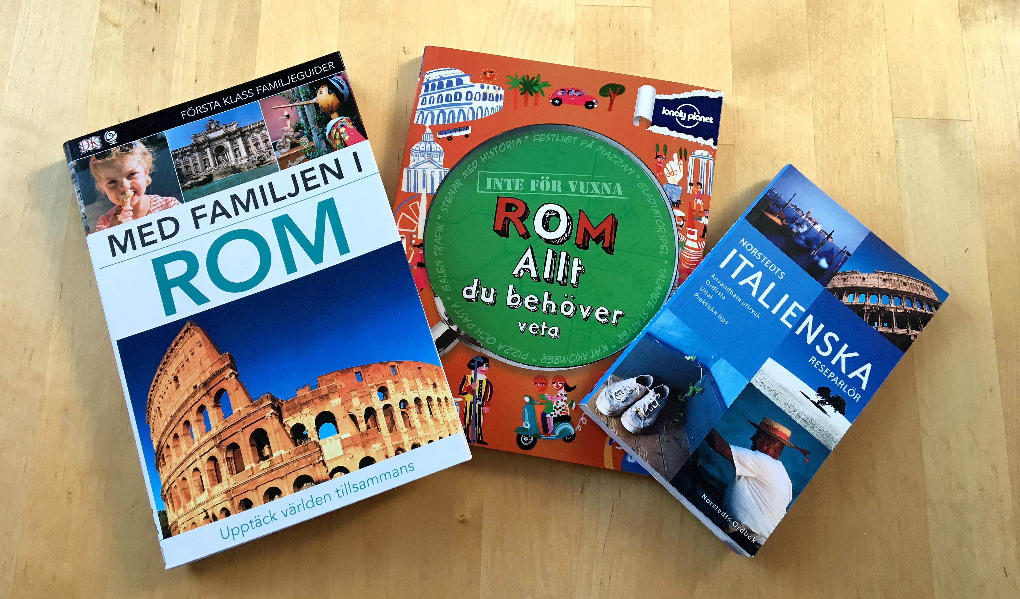 Planering inför vår resa till Rom