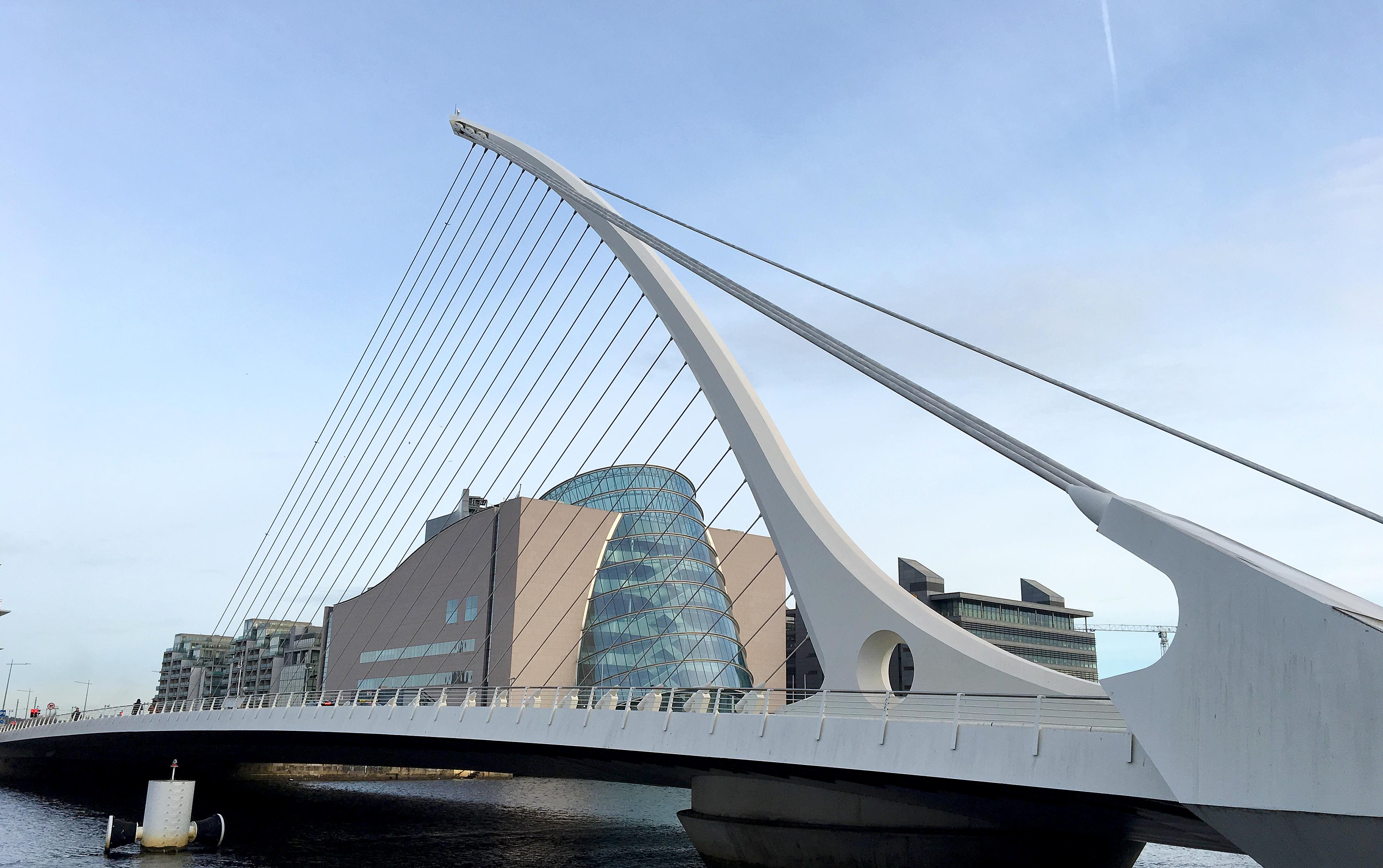 Samuel Beckett Bridge dublin