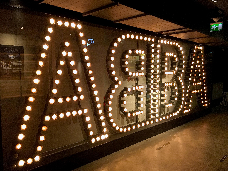abba the museum Stockholm på höstlovet