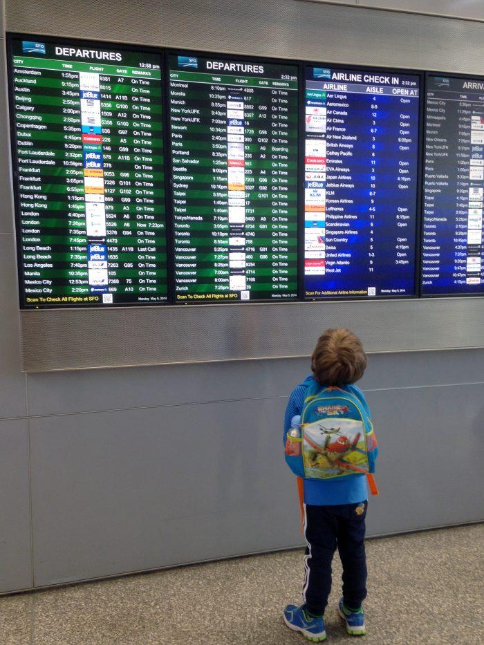 Inställda och försenade flyg
