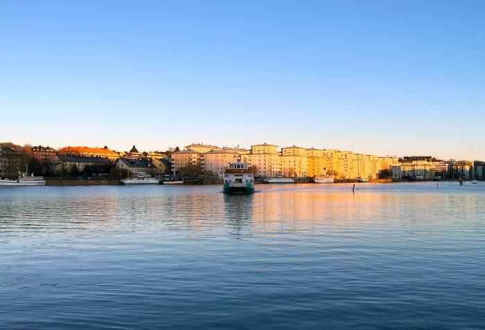 hammarby sjöstad båt