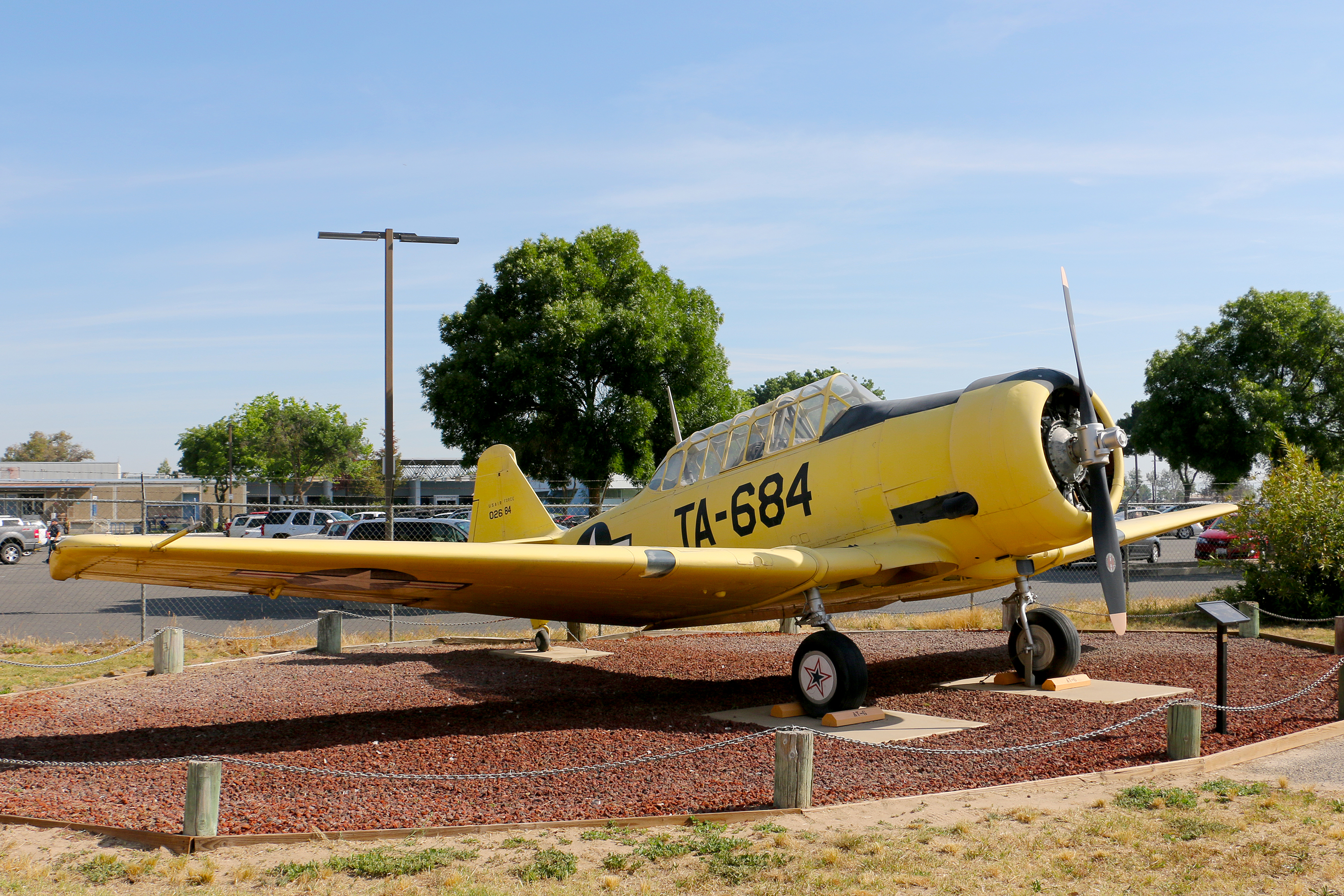North American AT-6 Texan Castle Air Museum