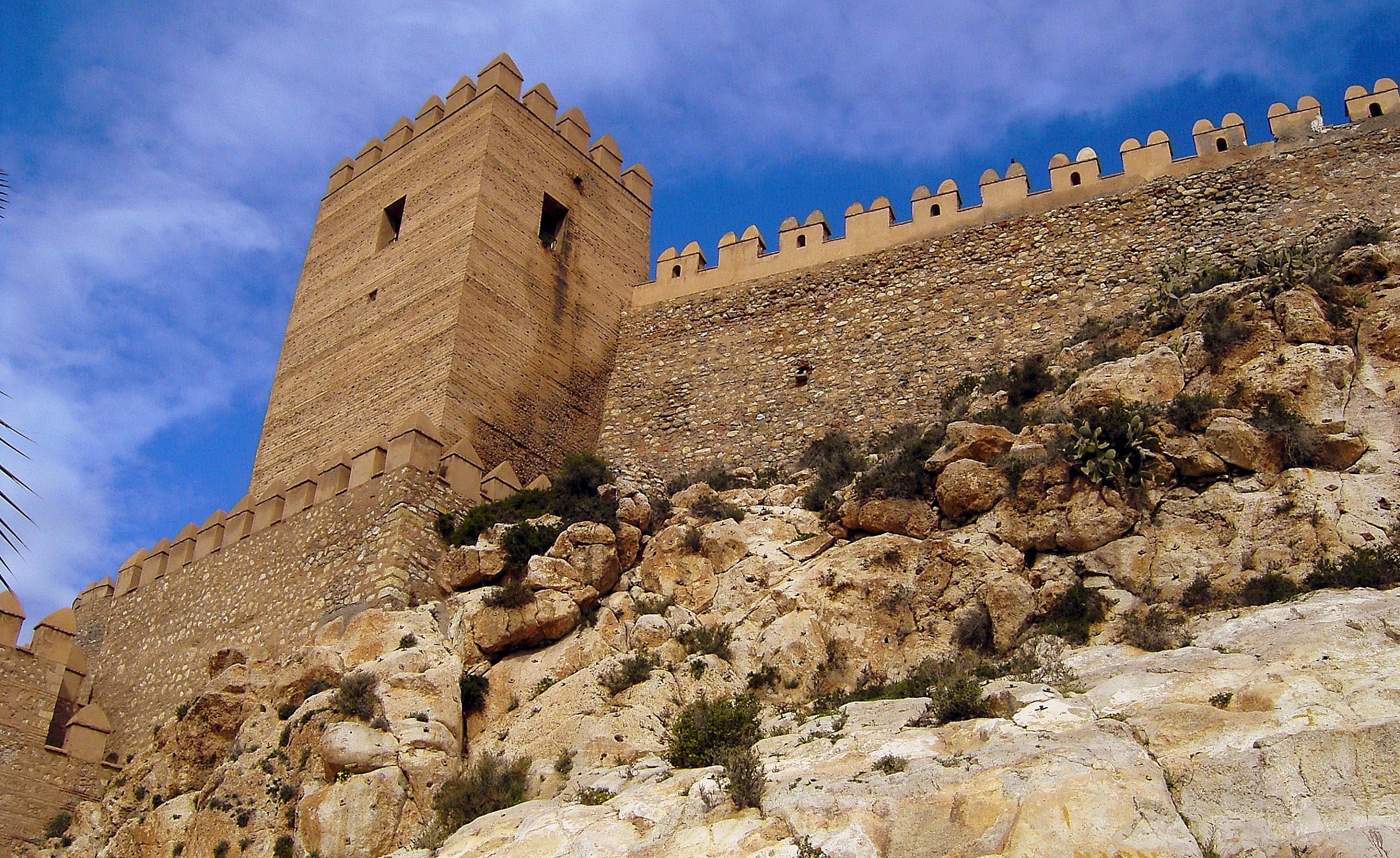Fortet Alcazaba.