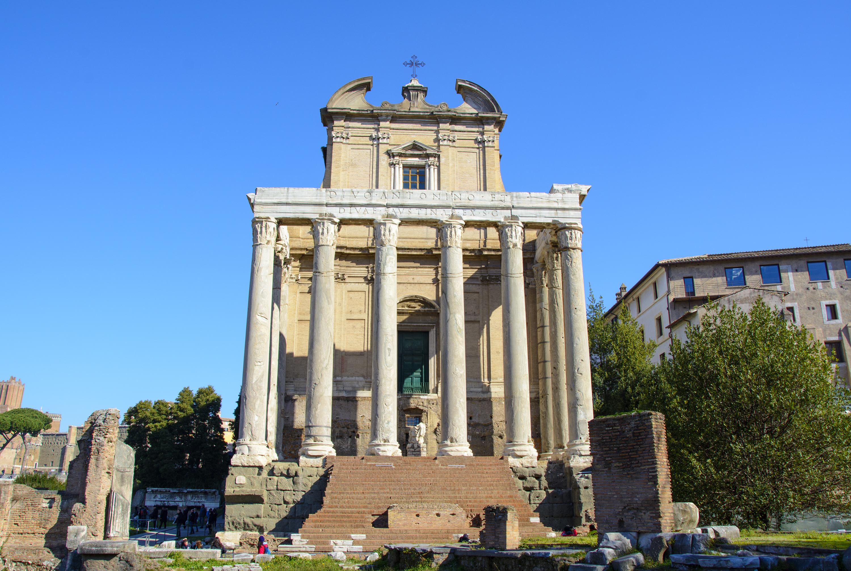 Antoninus Pius och Faustinas tempel