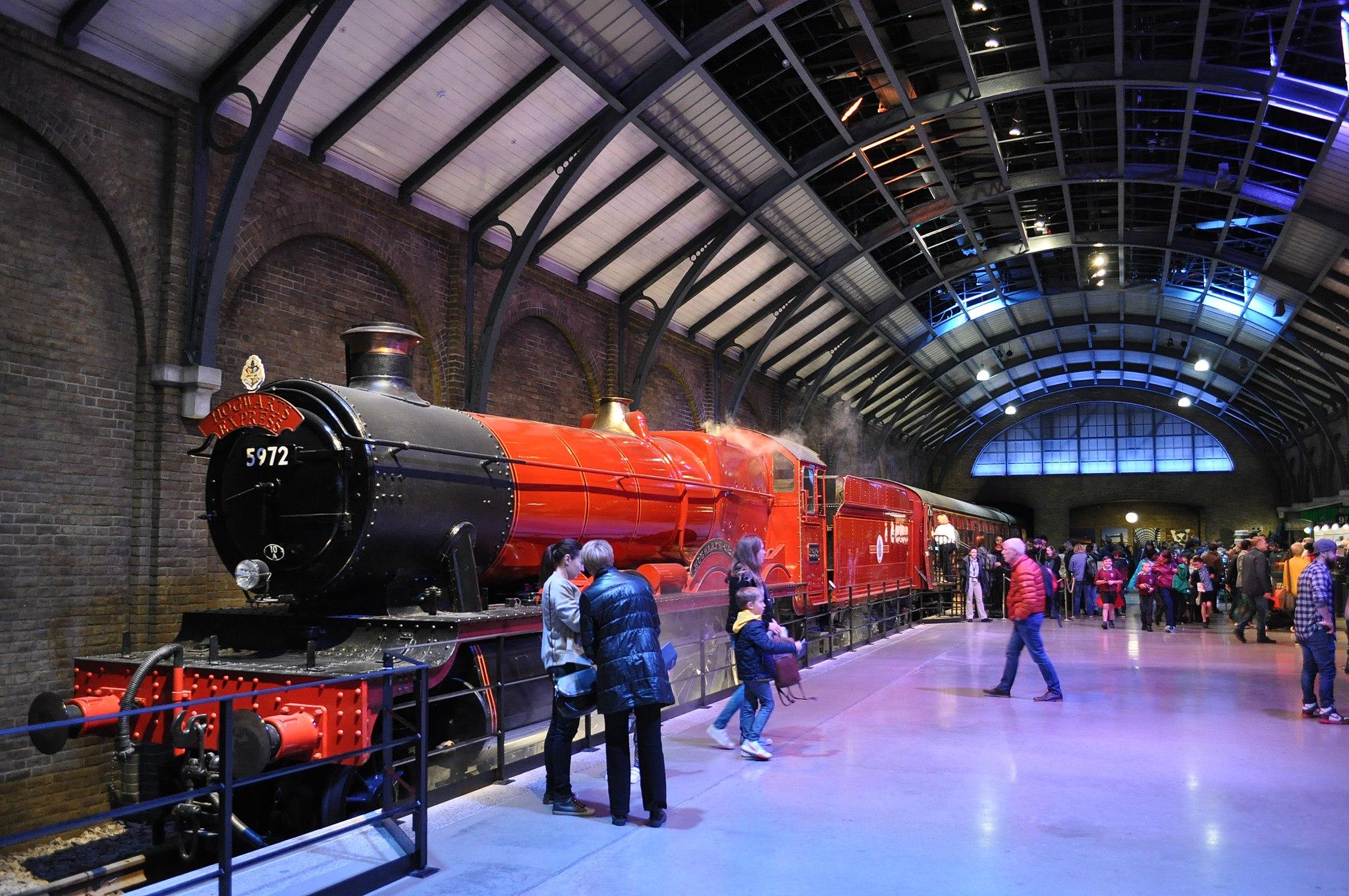 Resor med Harry Potter-tema