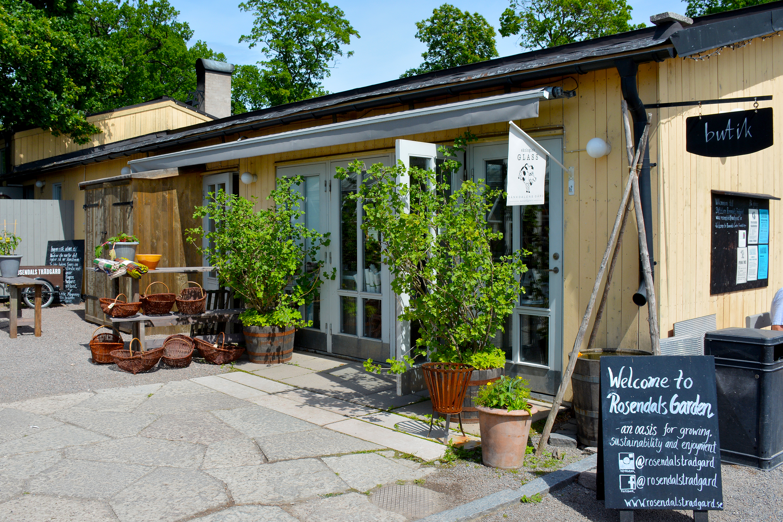 butik rosendals trädgård