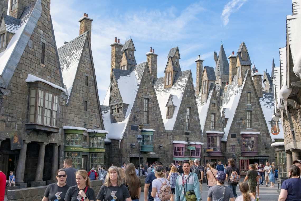 Hogsmeade Village Islands of Adventure Orlando