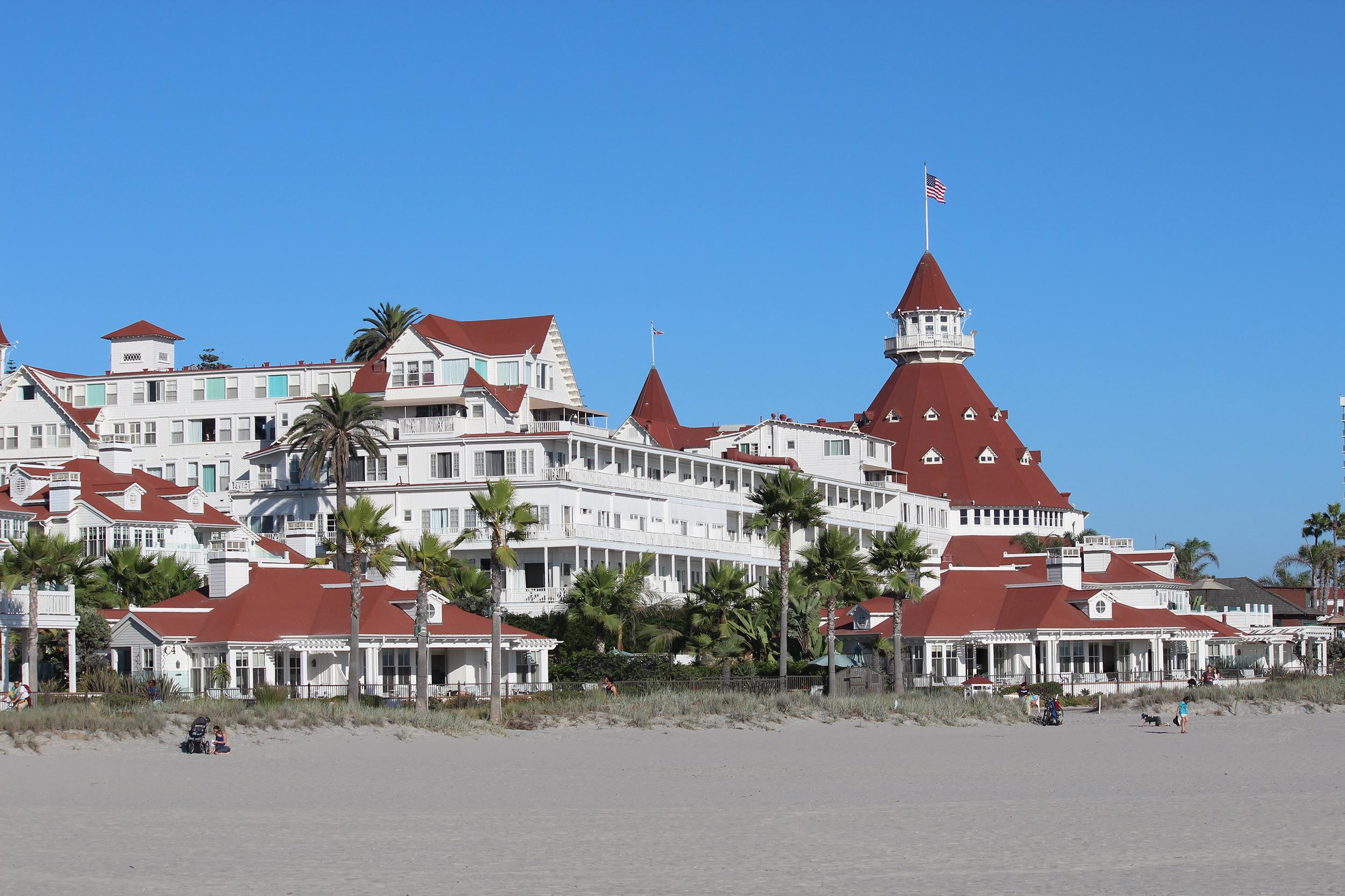 Åtta favoritplatser i USA Hotel del coronado