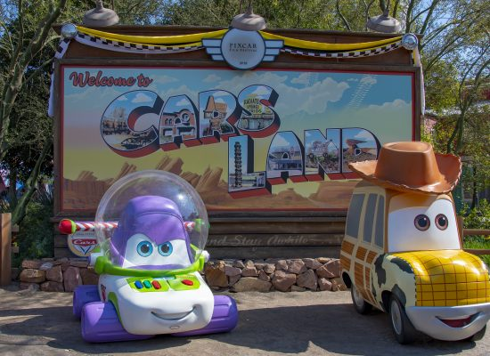 cars land pixar fest disneyland