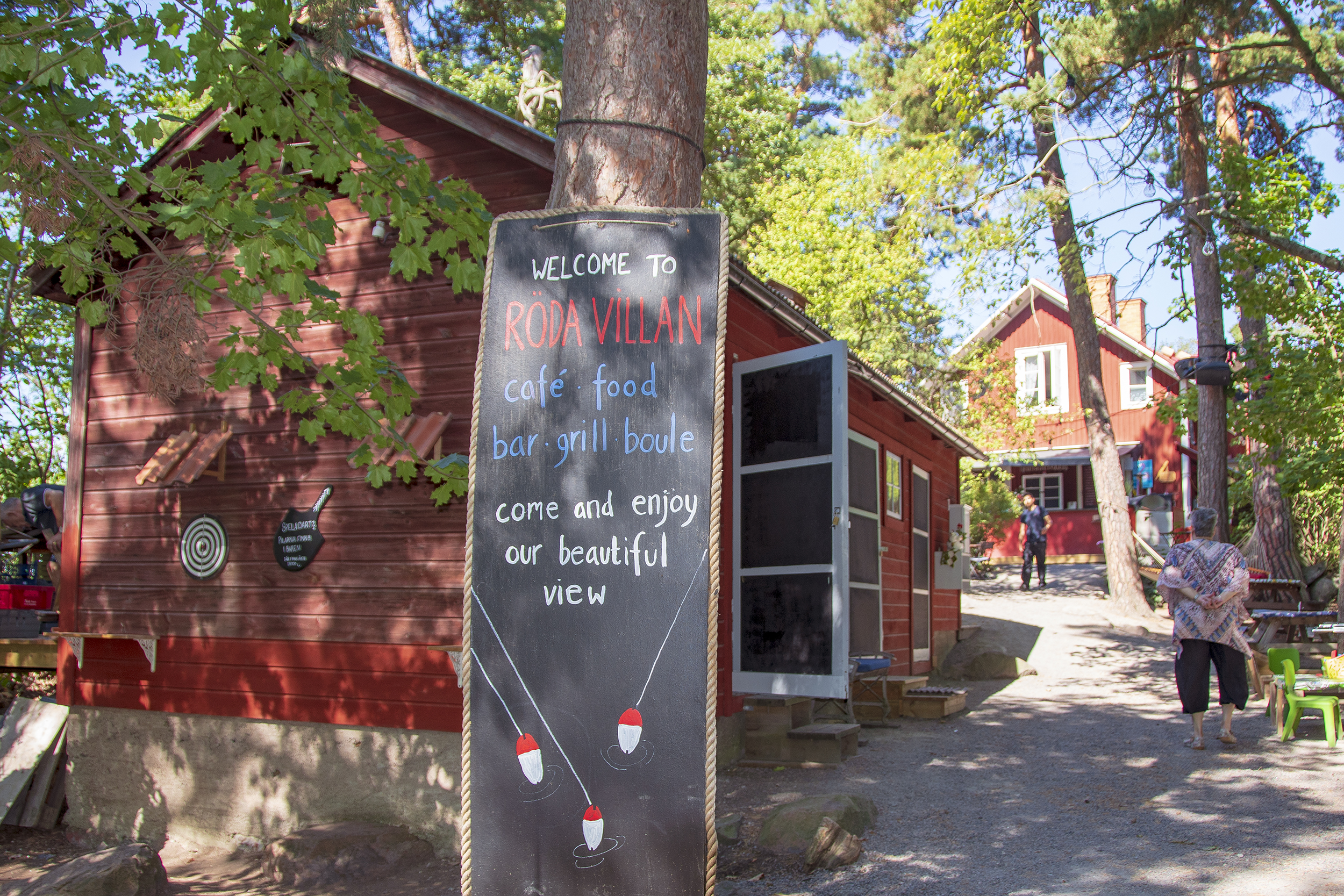 Fjäderholmarna Röda Villan