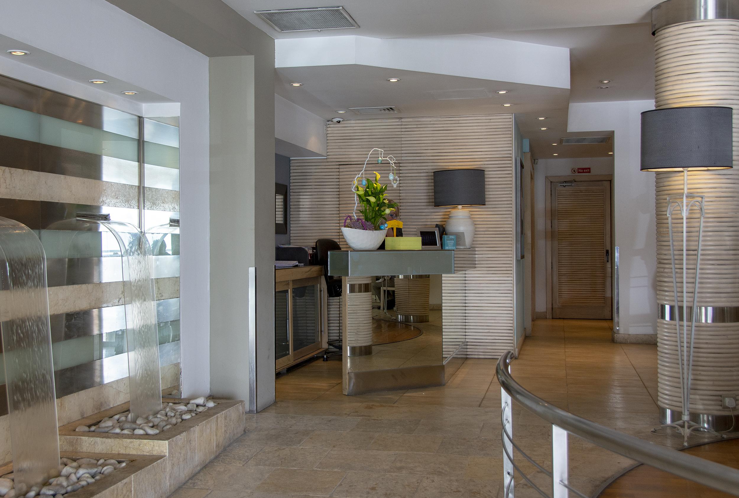 hotel juliani malta reception