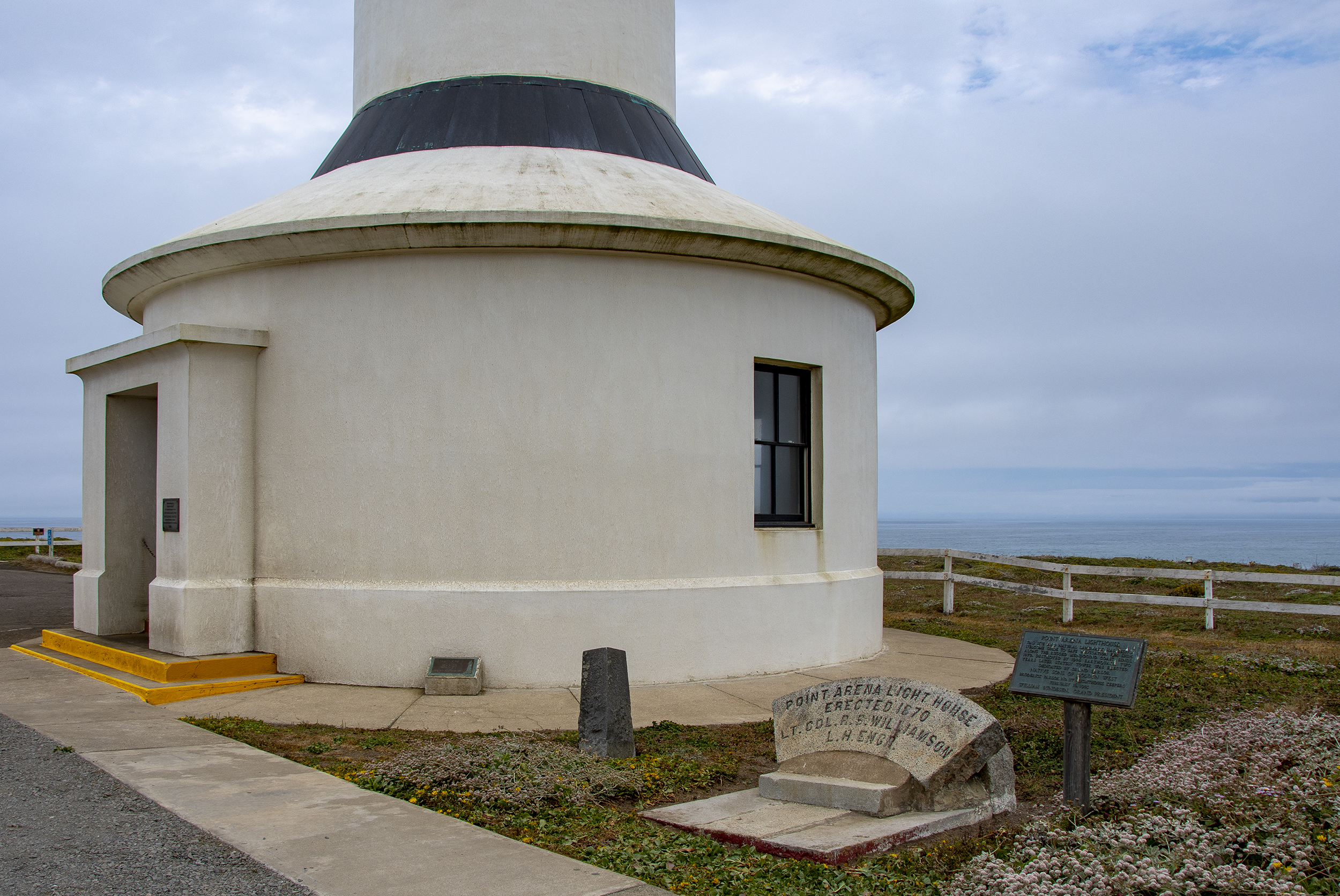 point arena lighthouse i