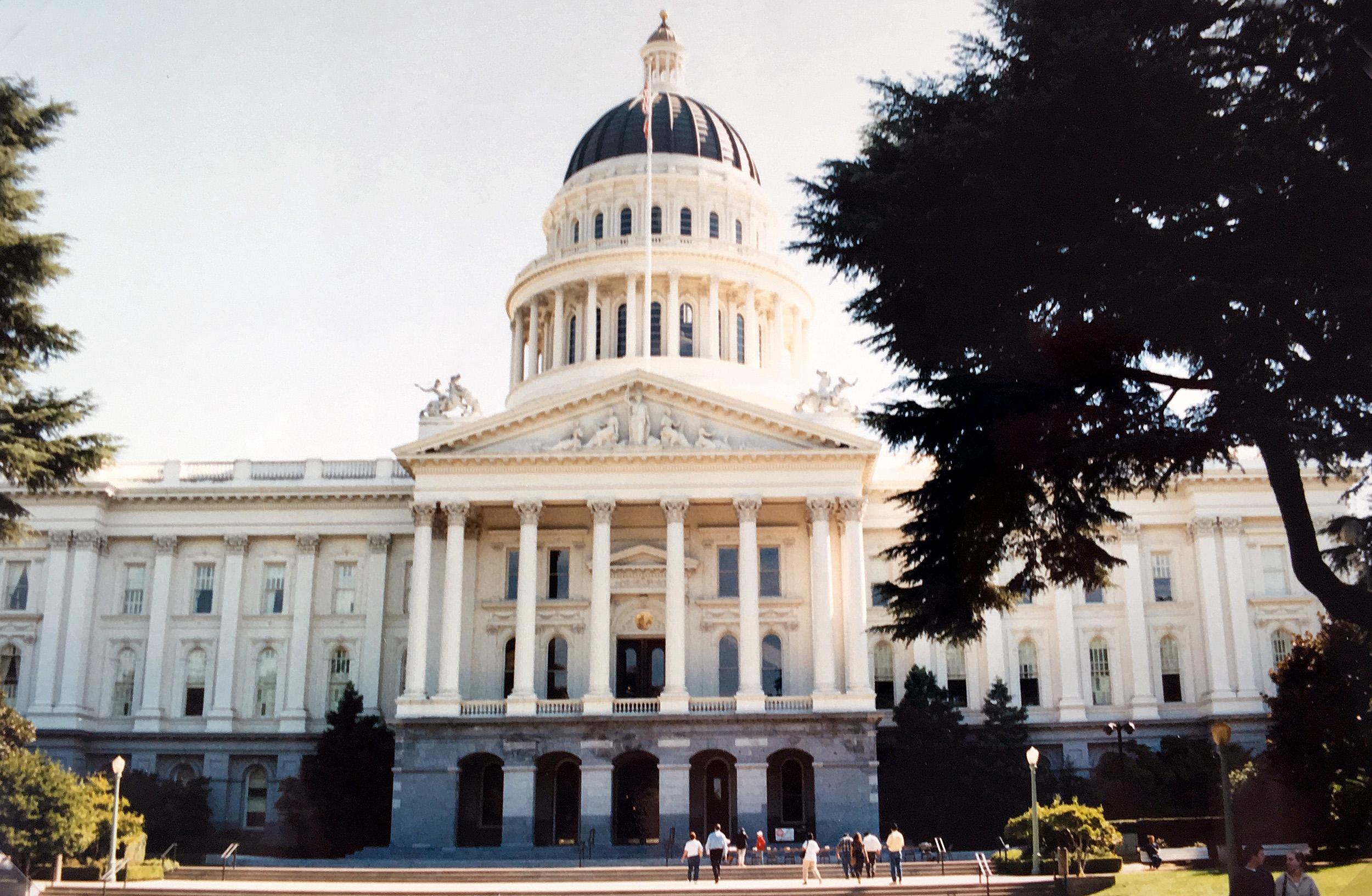 Capitol Building i Sacramento.