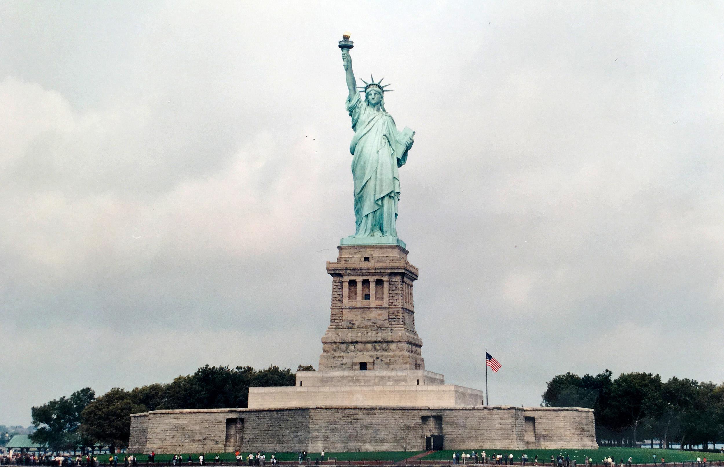 frihetsgudinnan new york
