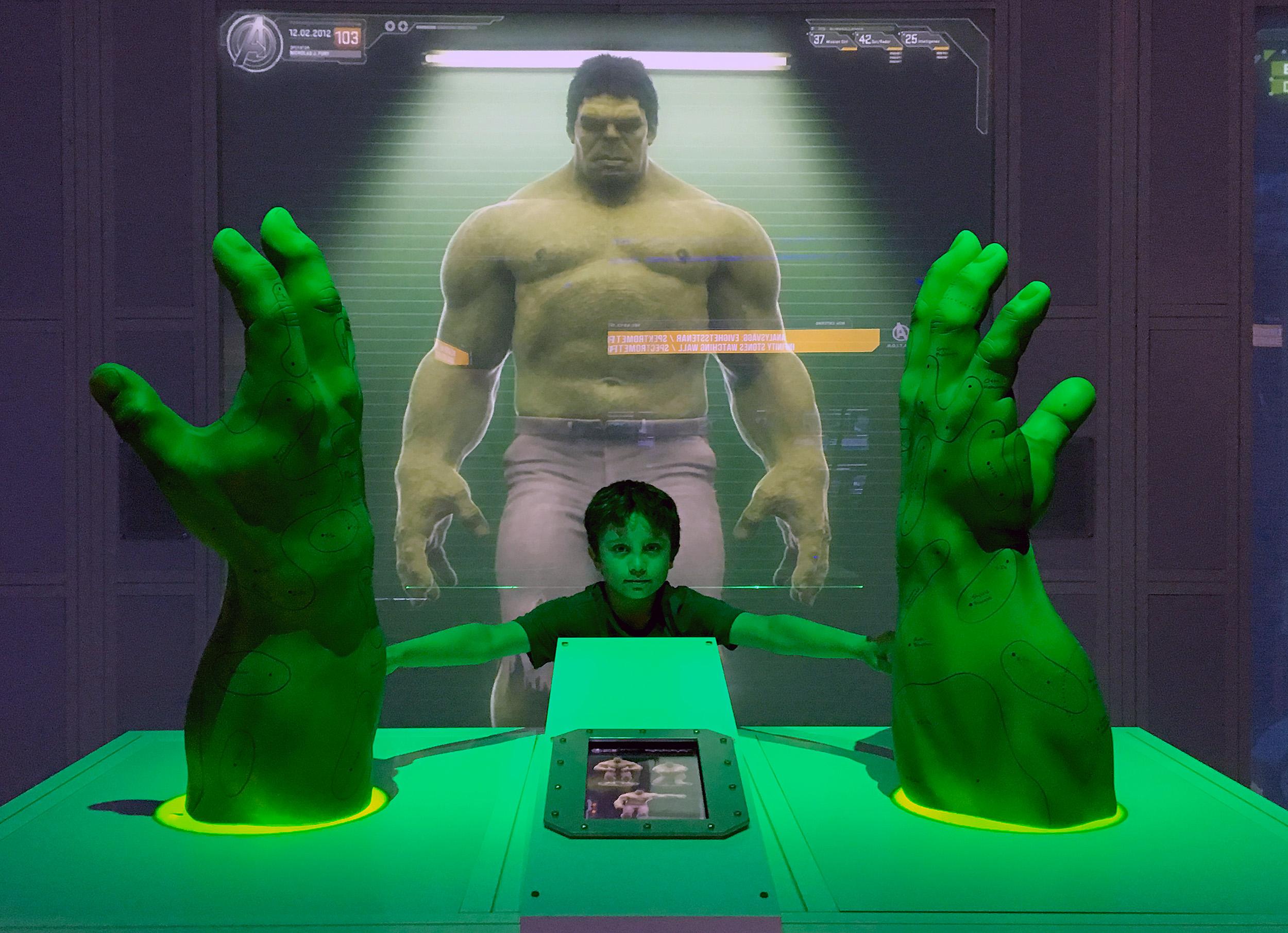 Marvels Avengers S.T.A.T.I.O.N.