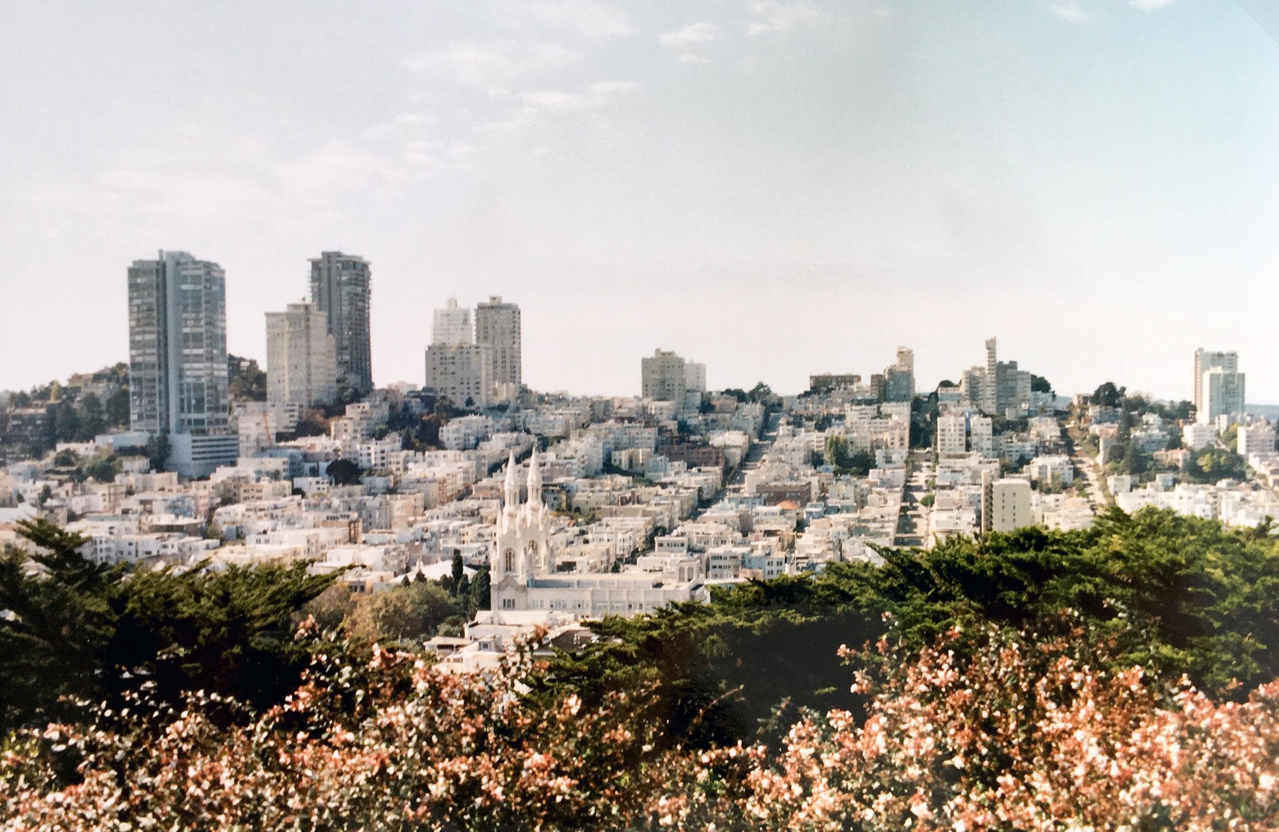 Utsikten från Coit Tower.