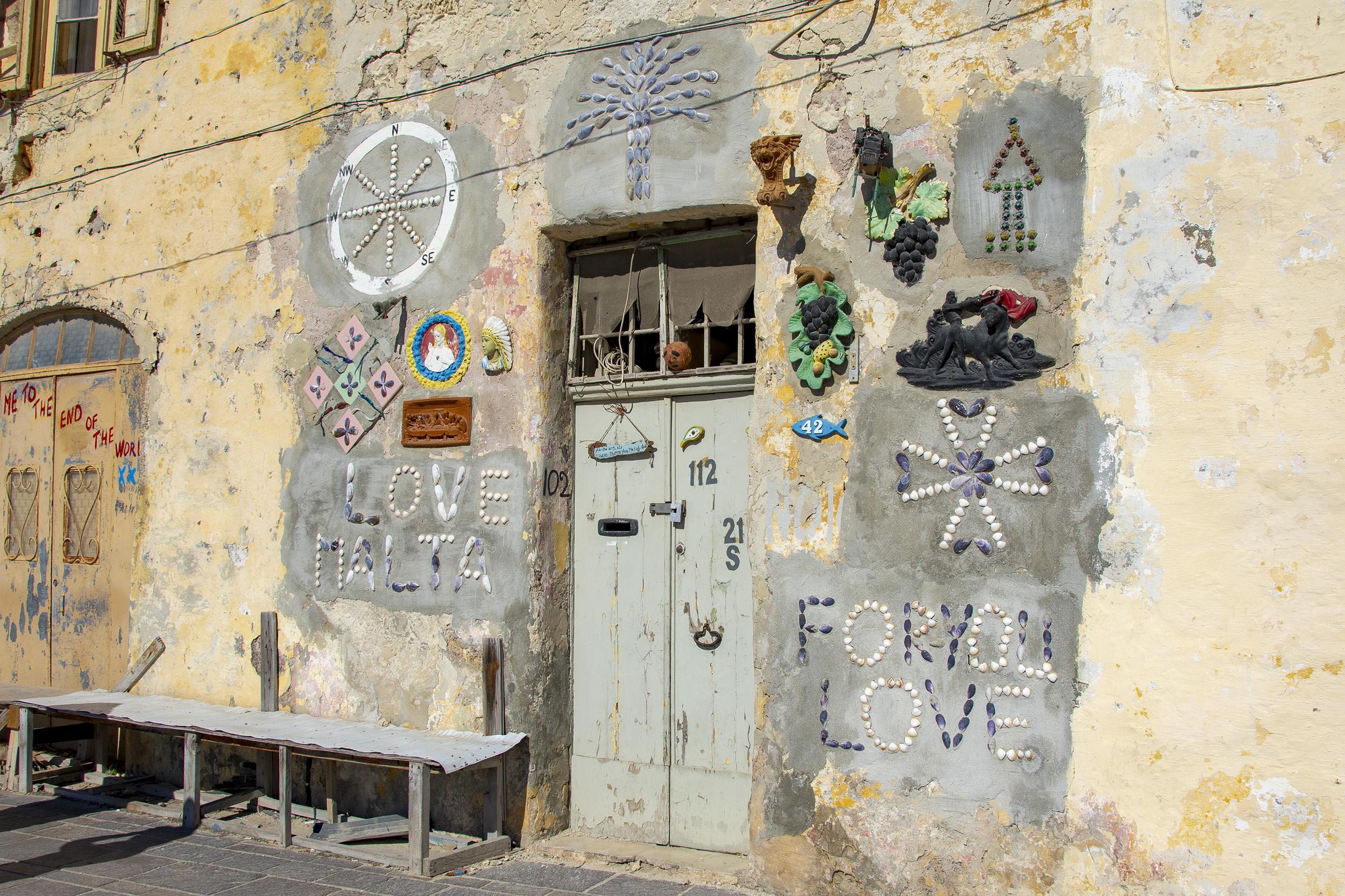 Marsaxlokk Malta Love Door