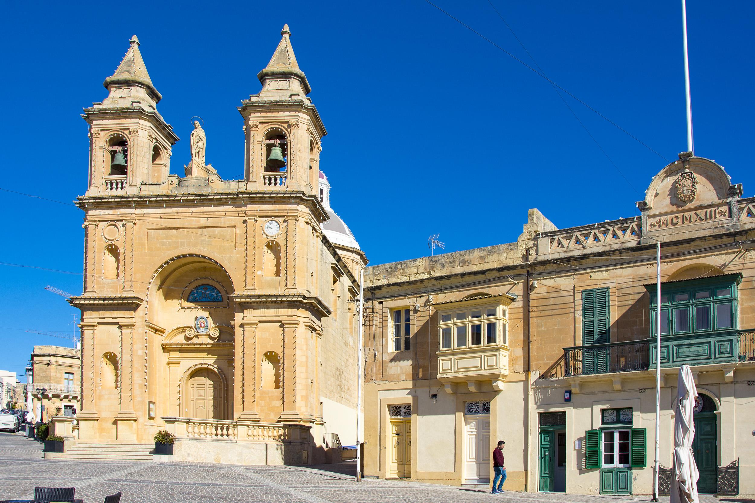 Marsaxlokk Malta Our Lady of Pompeii
