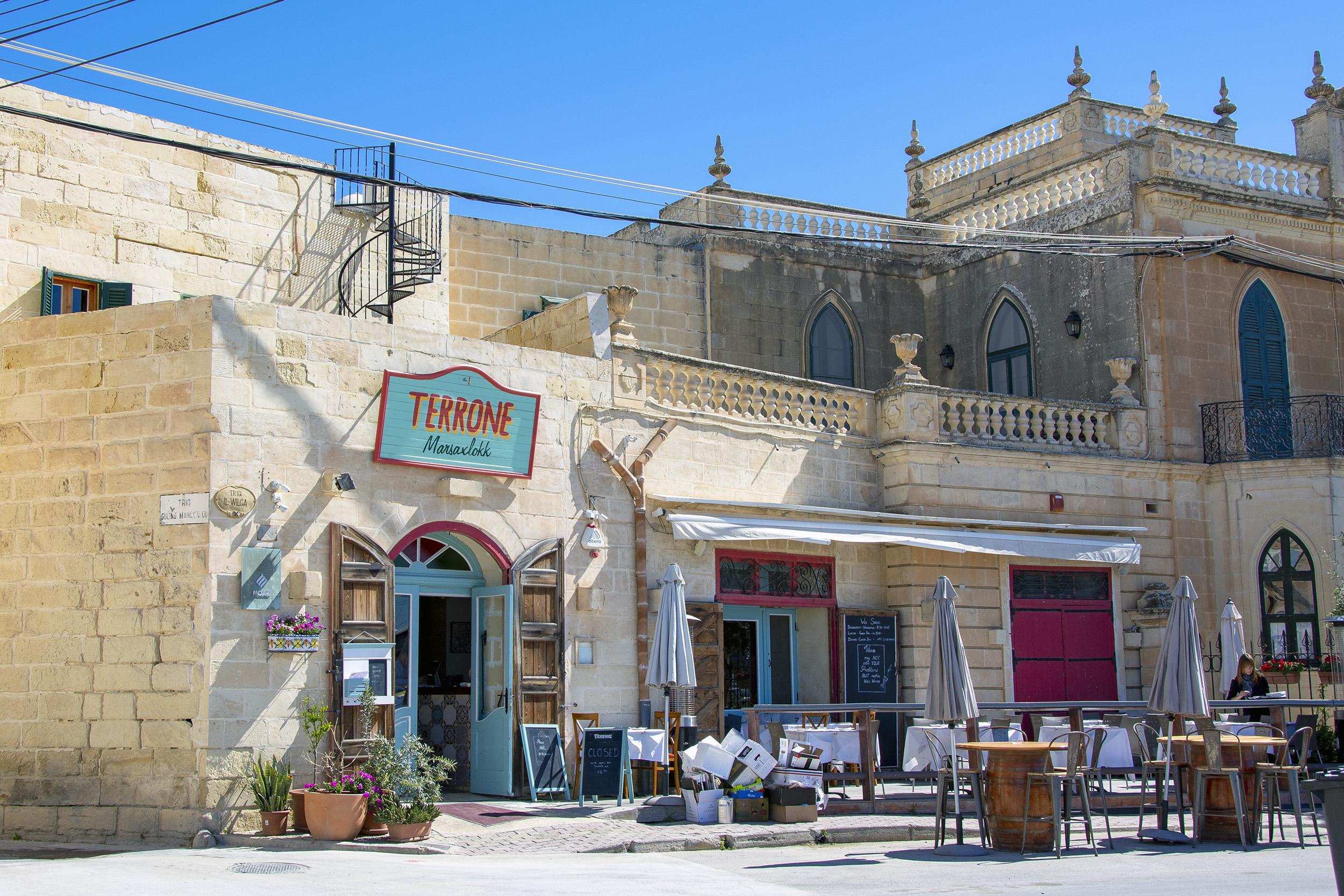 Marsaxlokk Malta Terrone