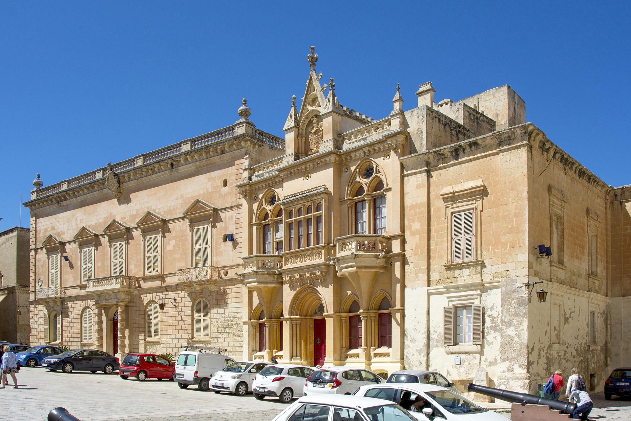 Vackert hus i Mdina på Malta