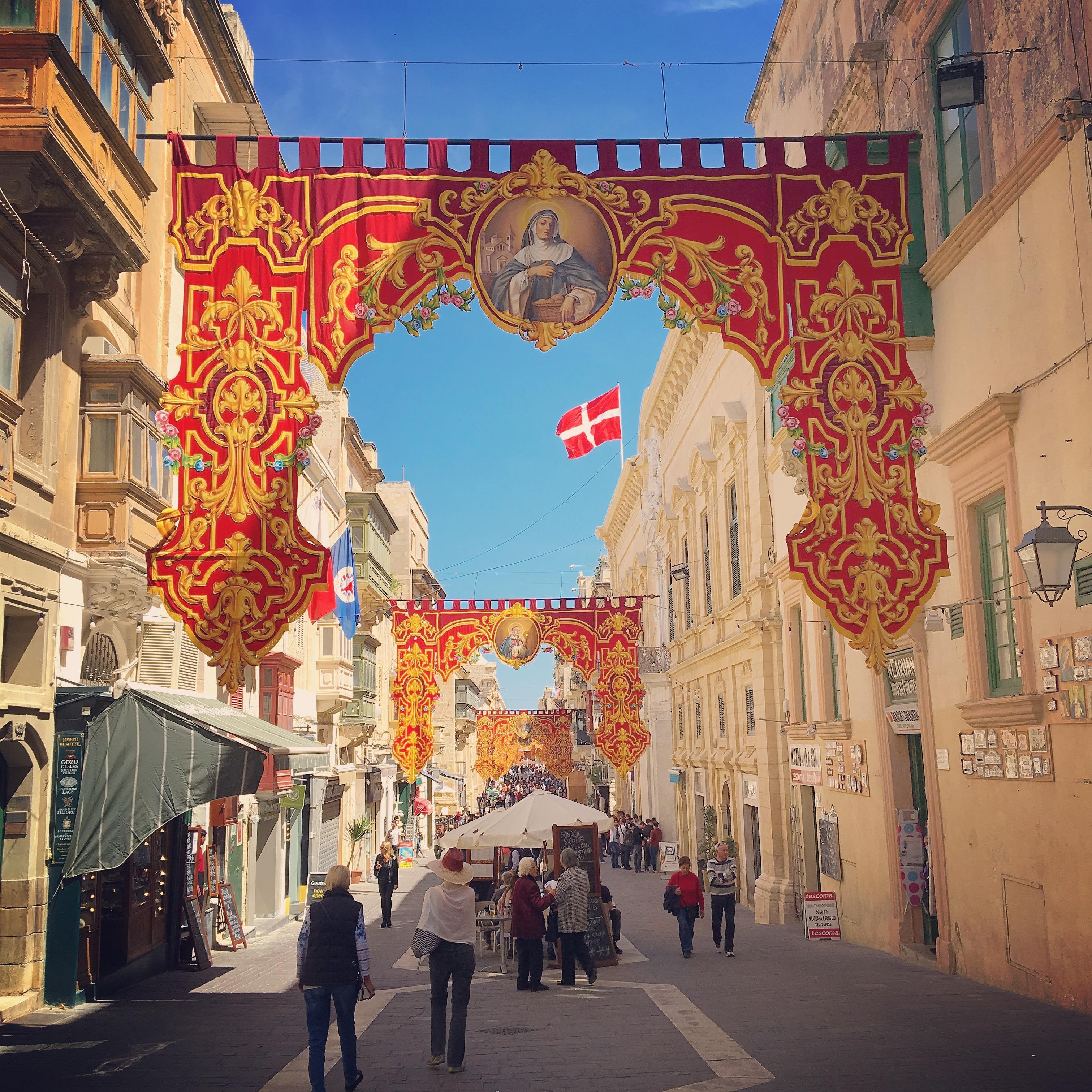 Merchant Street Valletta Malta