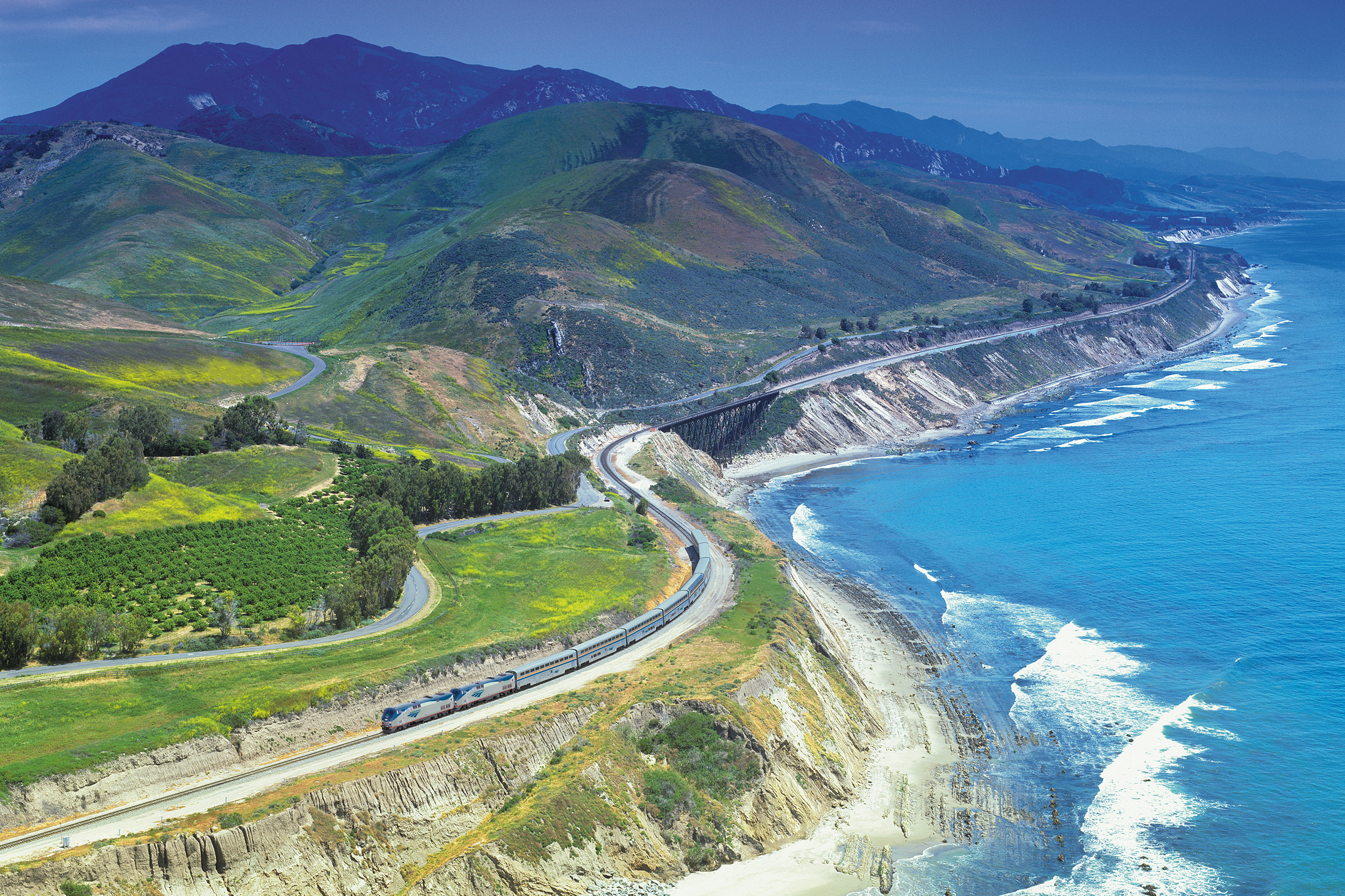 Coast Starlight Amtrak USA:s fem vackraste tågresor