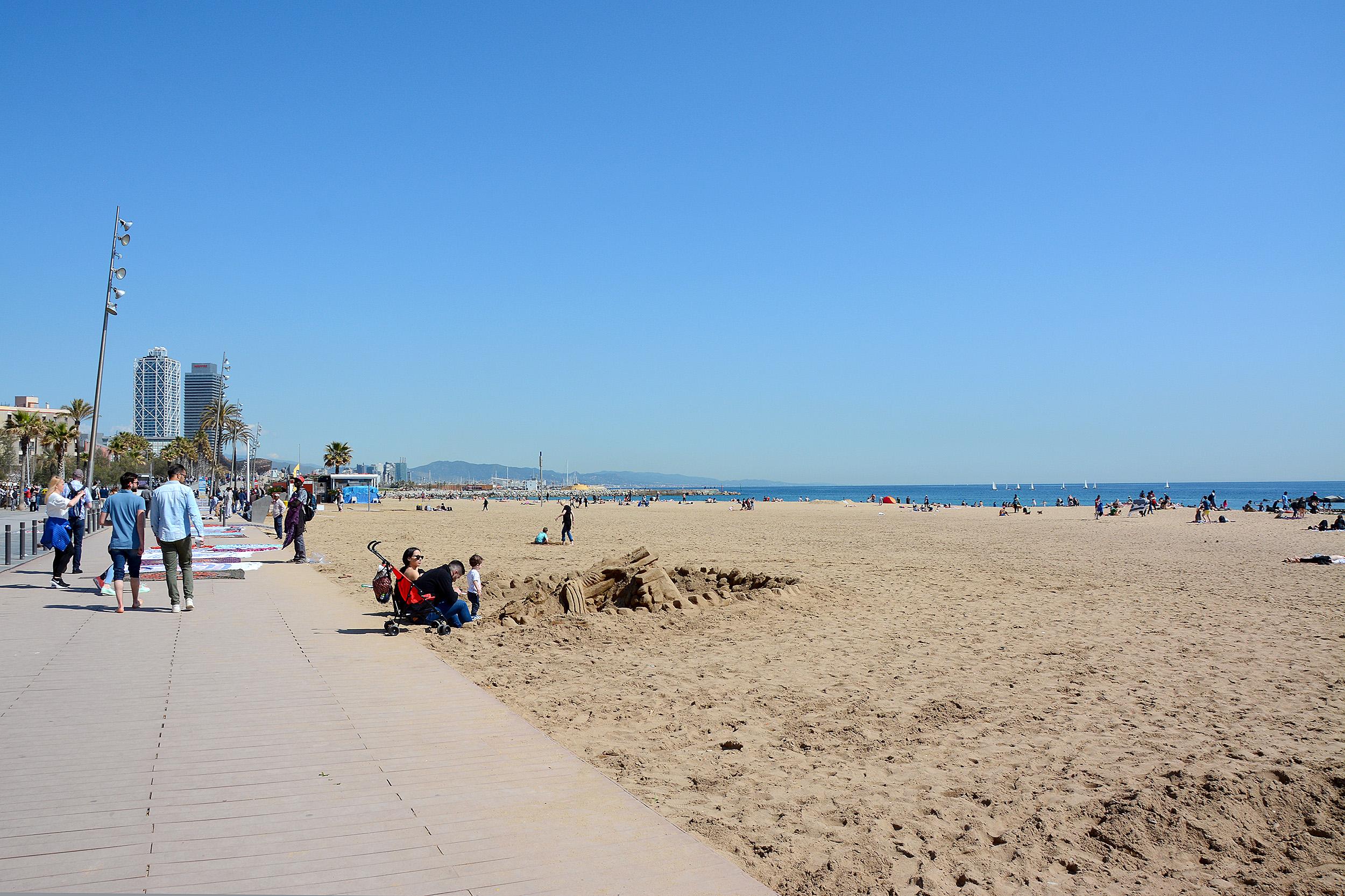 Barceloneta Barcelona Favoritstränder