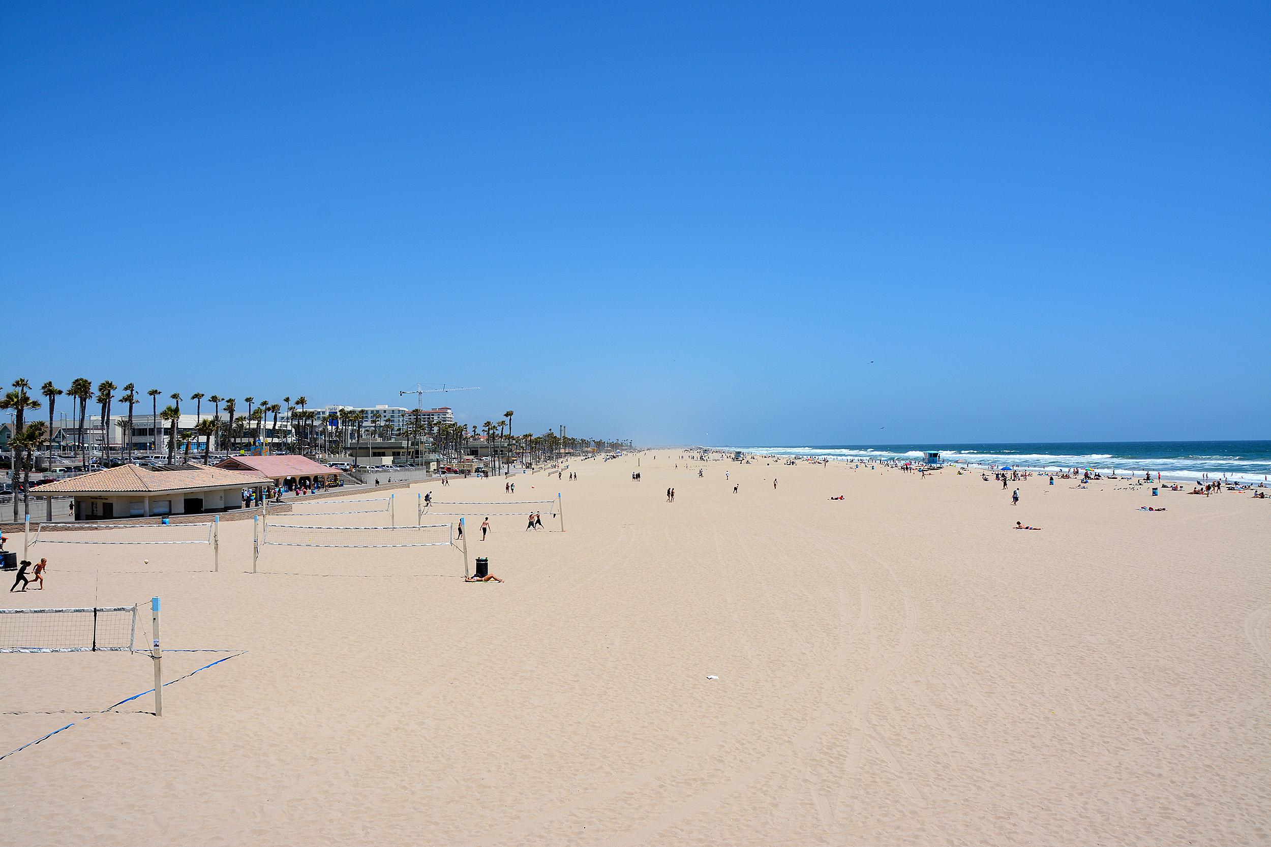 Huntington Beach Kalifornien Favoritstränder