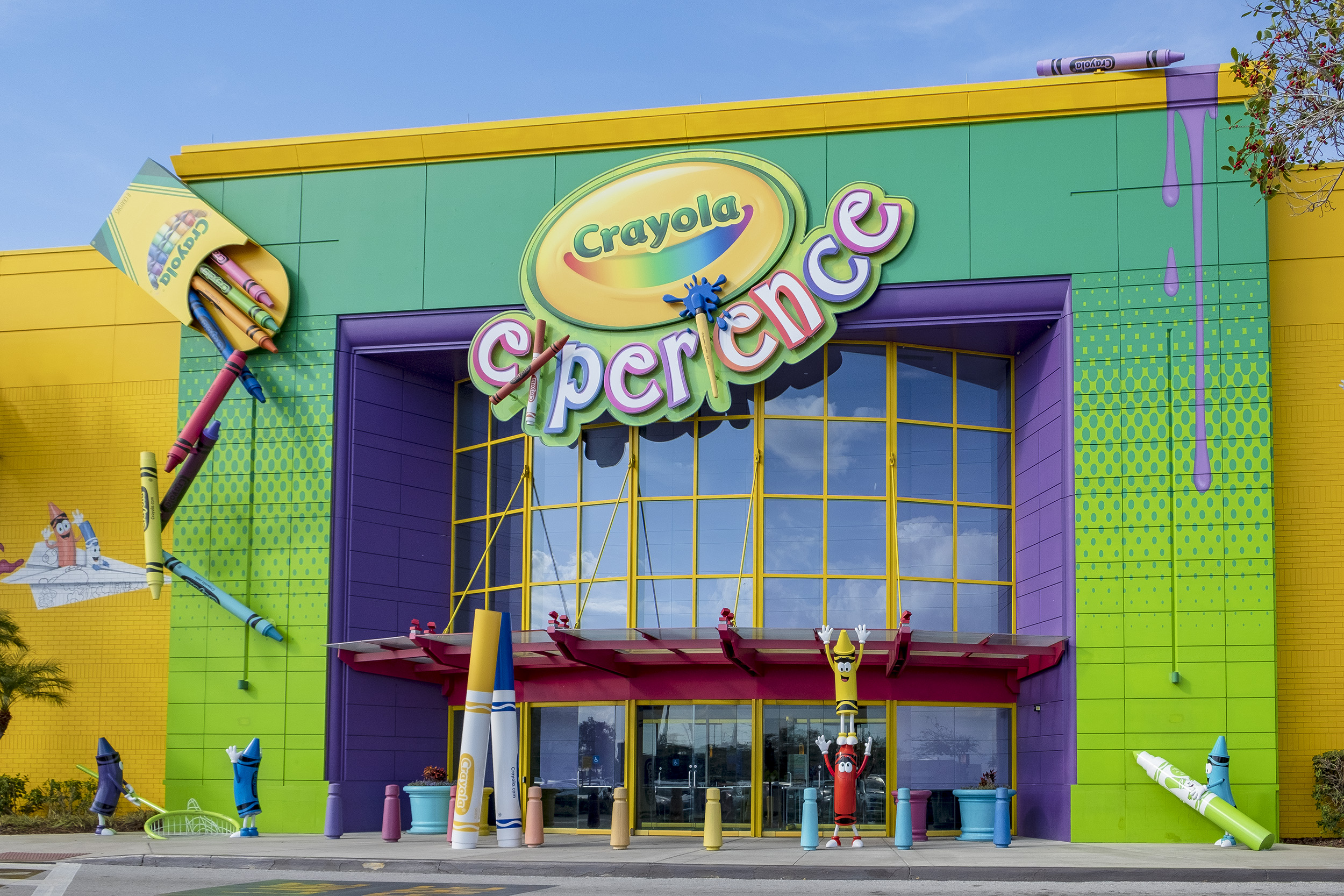 Crayola Experience Florida Mall Orlando