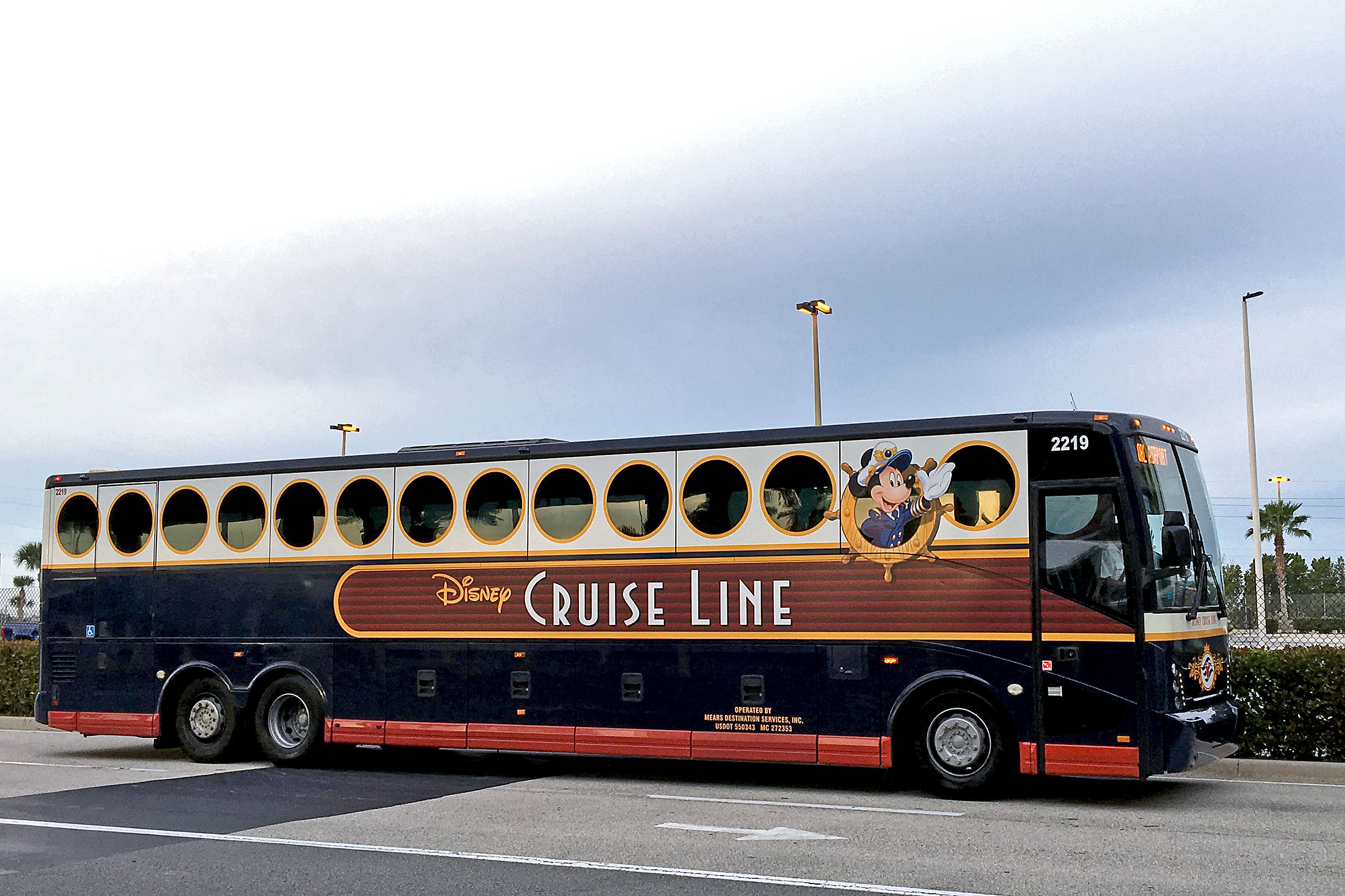 Disney Cruise Line Bus Port Canaveral