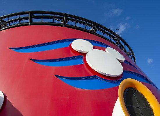 Disneykryssning dag 1 Disney Dream
