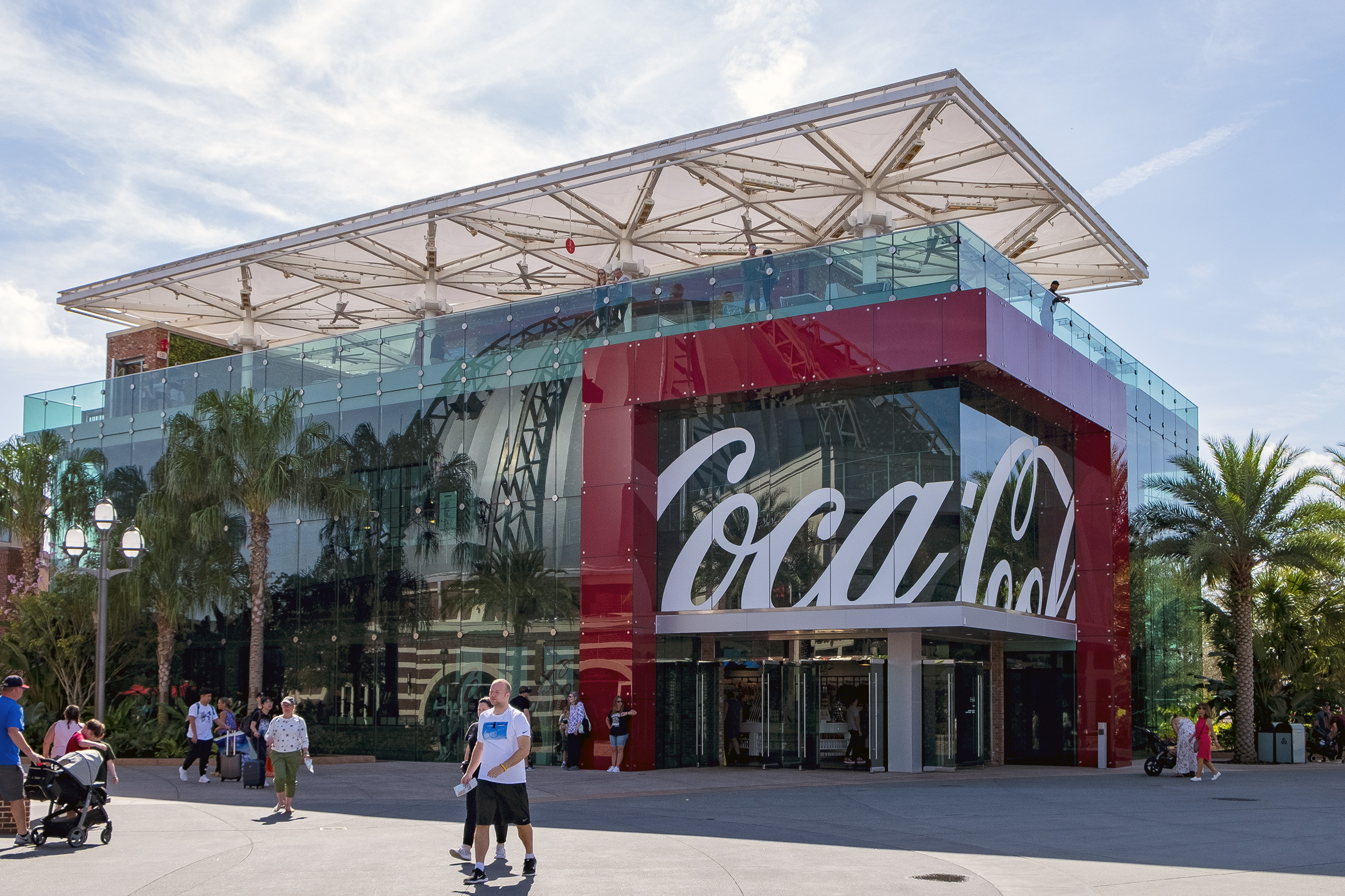Disney Springs Coca-Cola