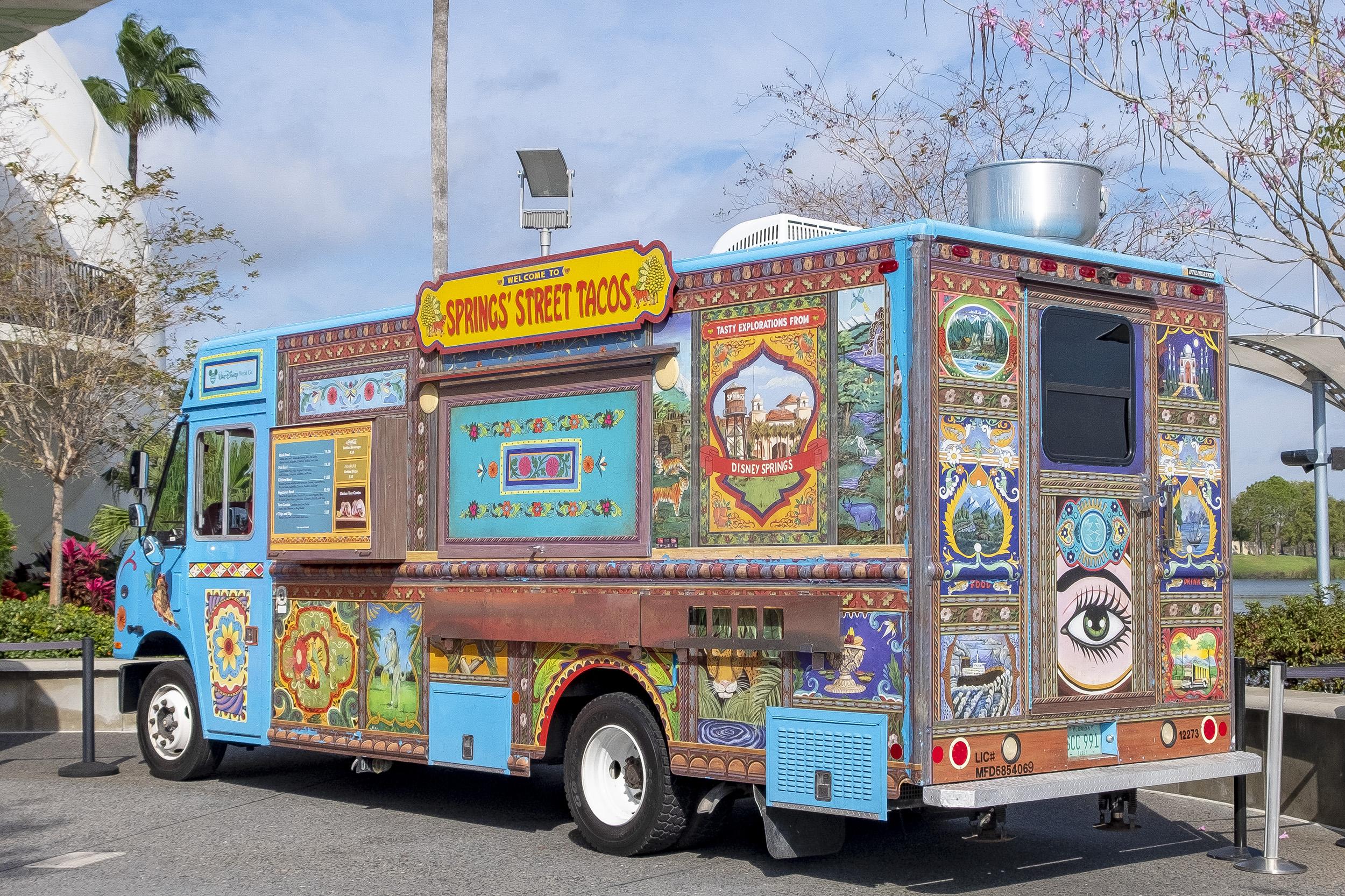 Disney Springs Street Tacos