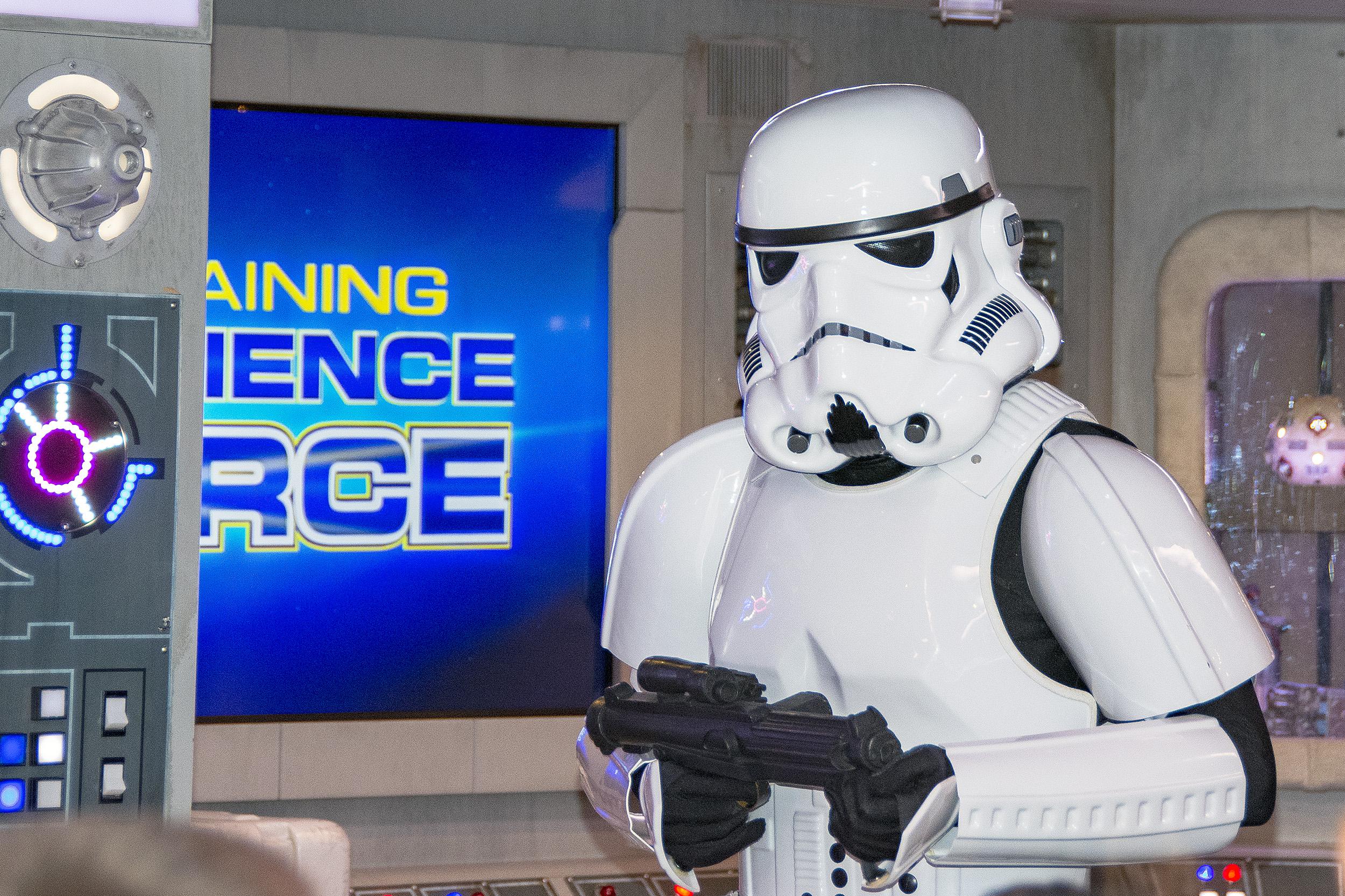Oceaneer Club Disney Dream Jedi Training