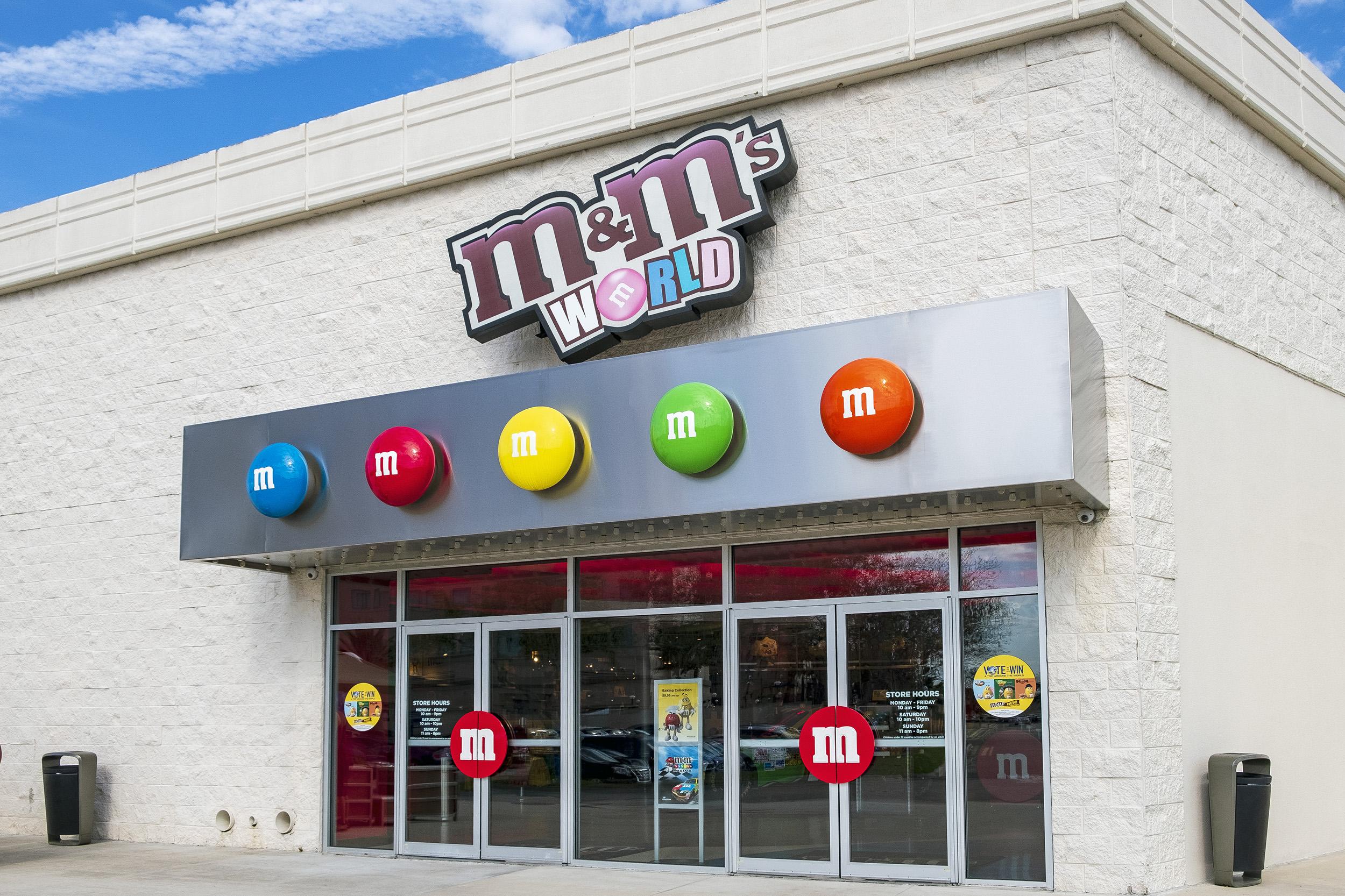 M & M store Florida Mall Orlando