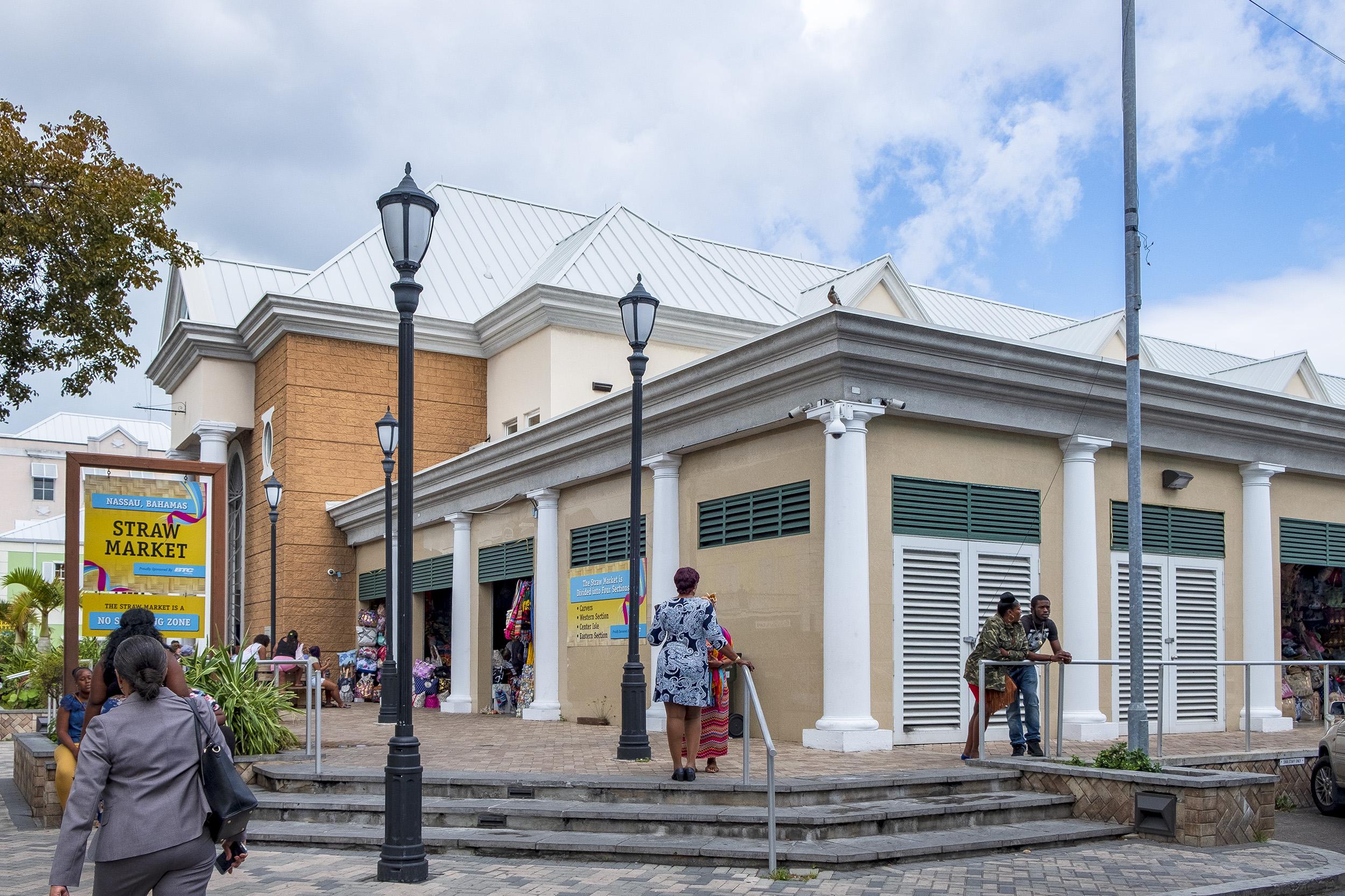 Straw Market Nassau Bahamas