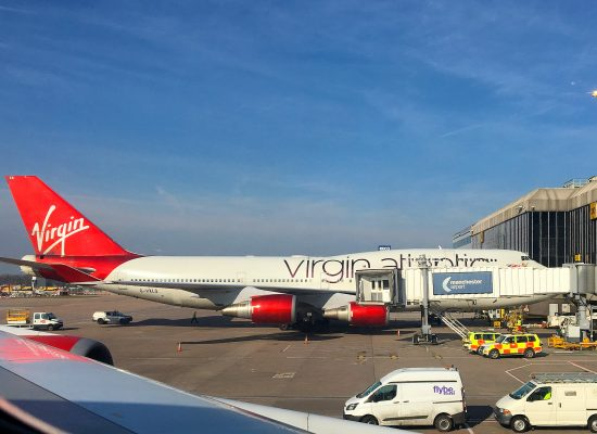 Virgin Atlantic Manchester Airport