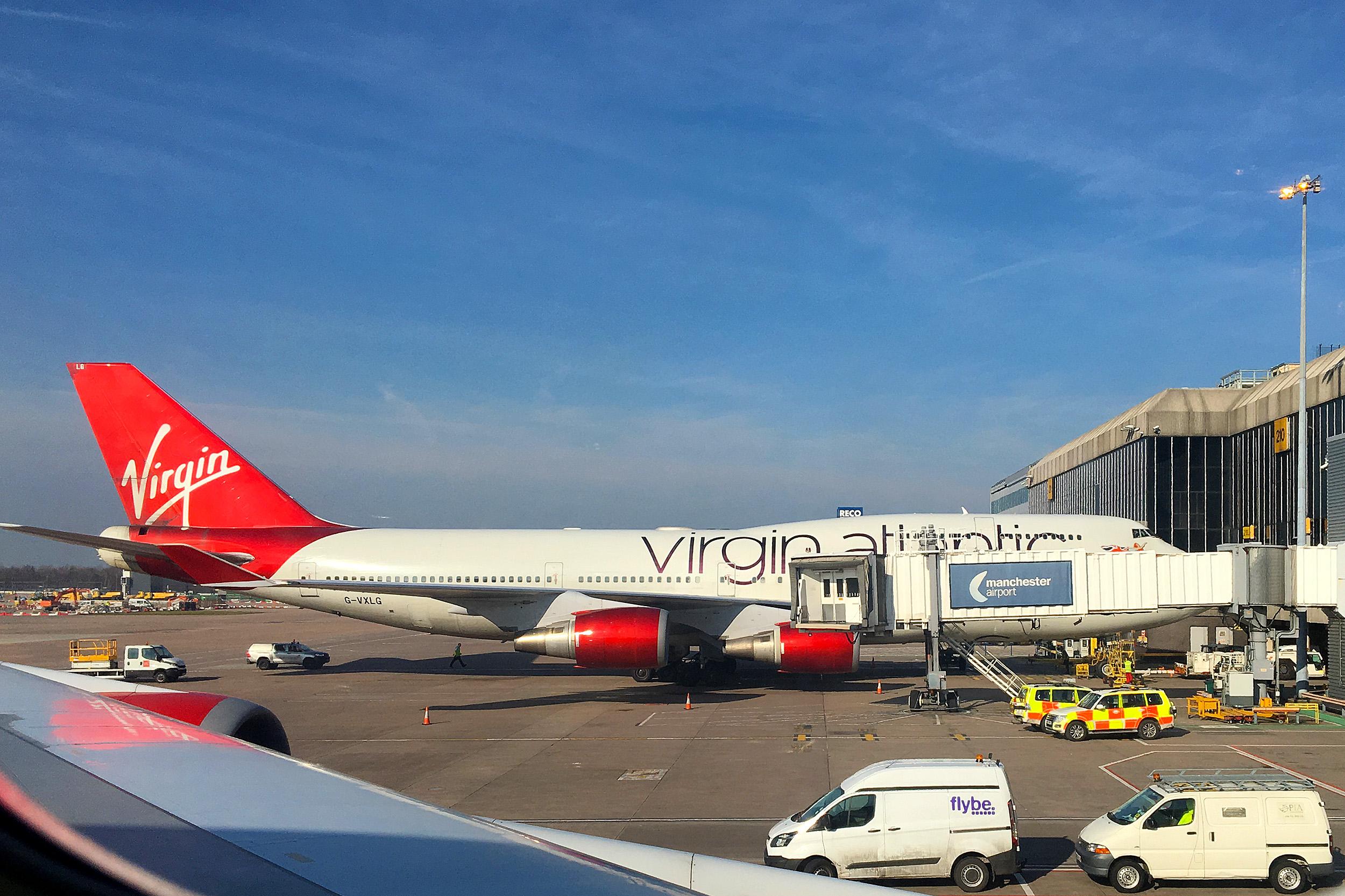 Virgin Atlantic Manchester Airport