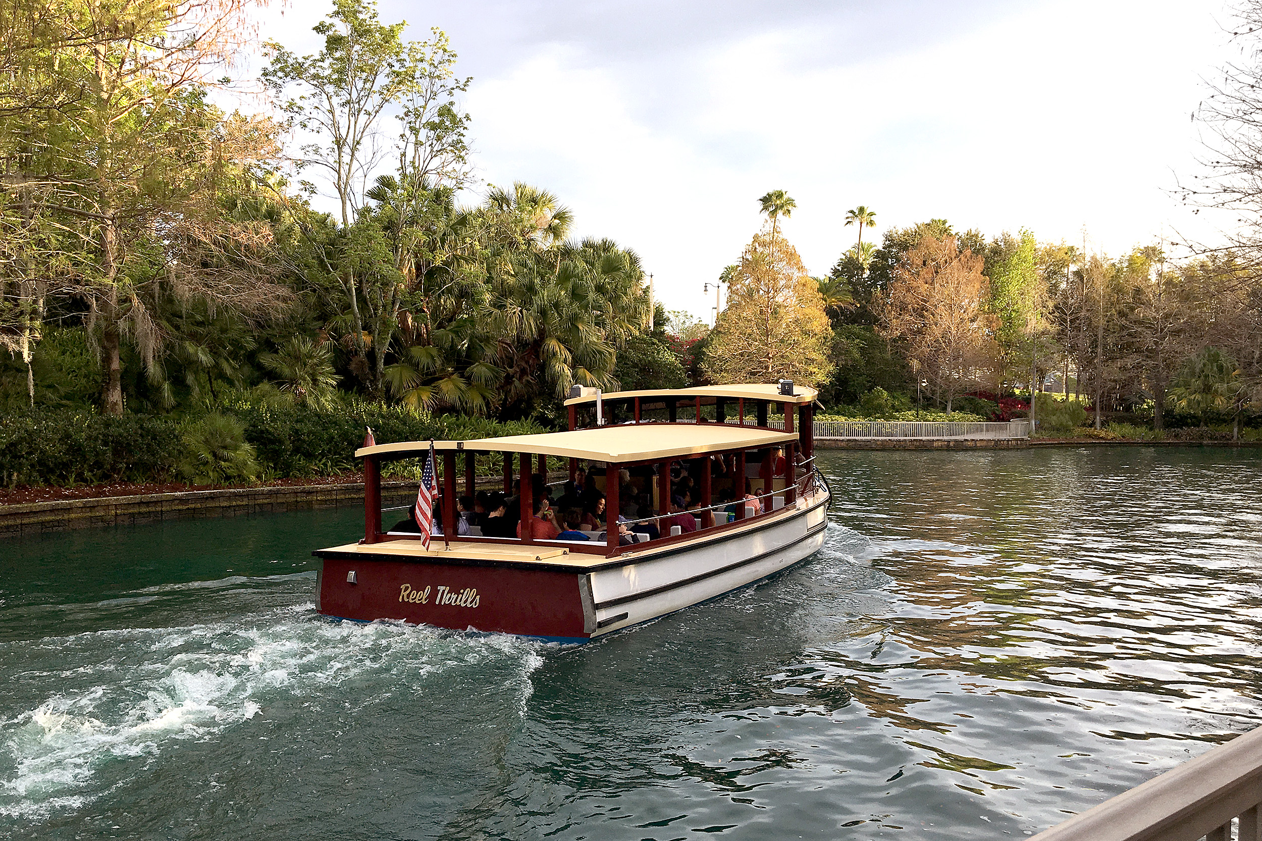 Loews Royal Pacific Resort Universal Orlando Boat