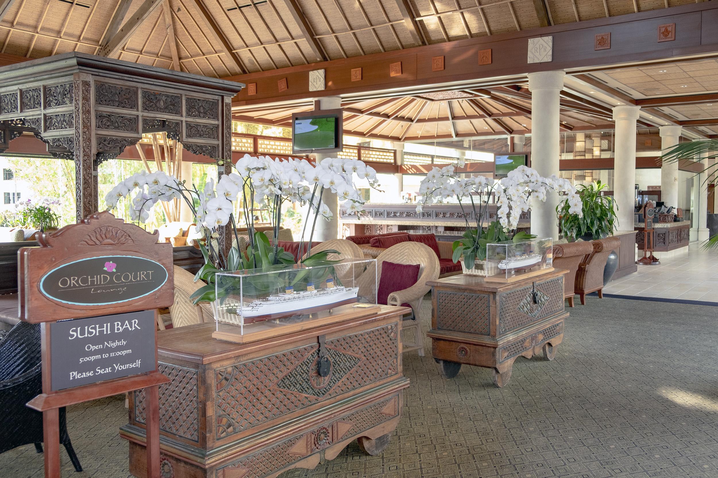 Loews Royal Pacific Resort Universal Orlando Citywalk Orchid Court Sushi Bar