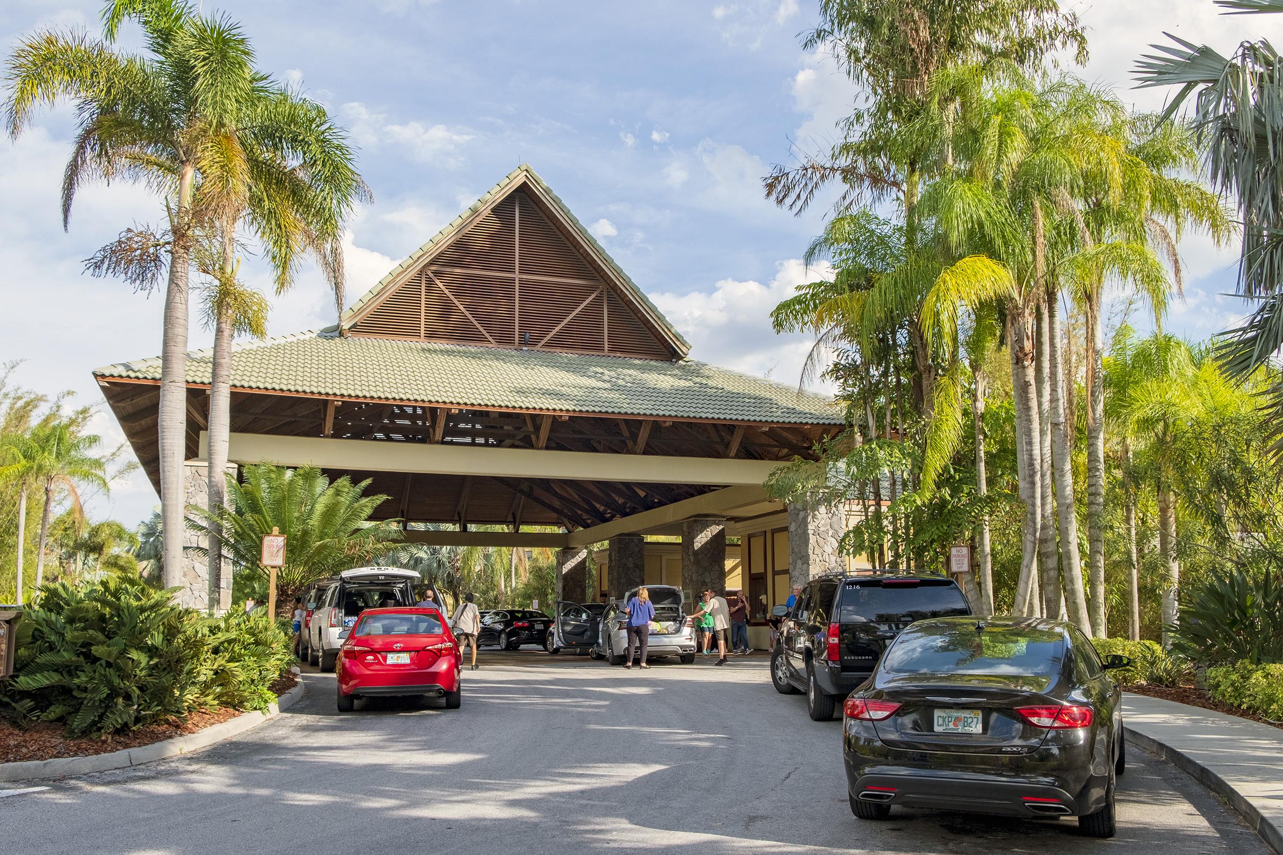 Infarten till Loews Royal Pacific Resort